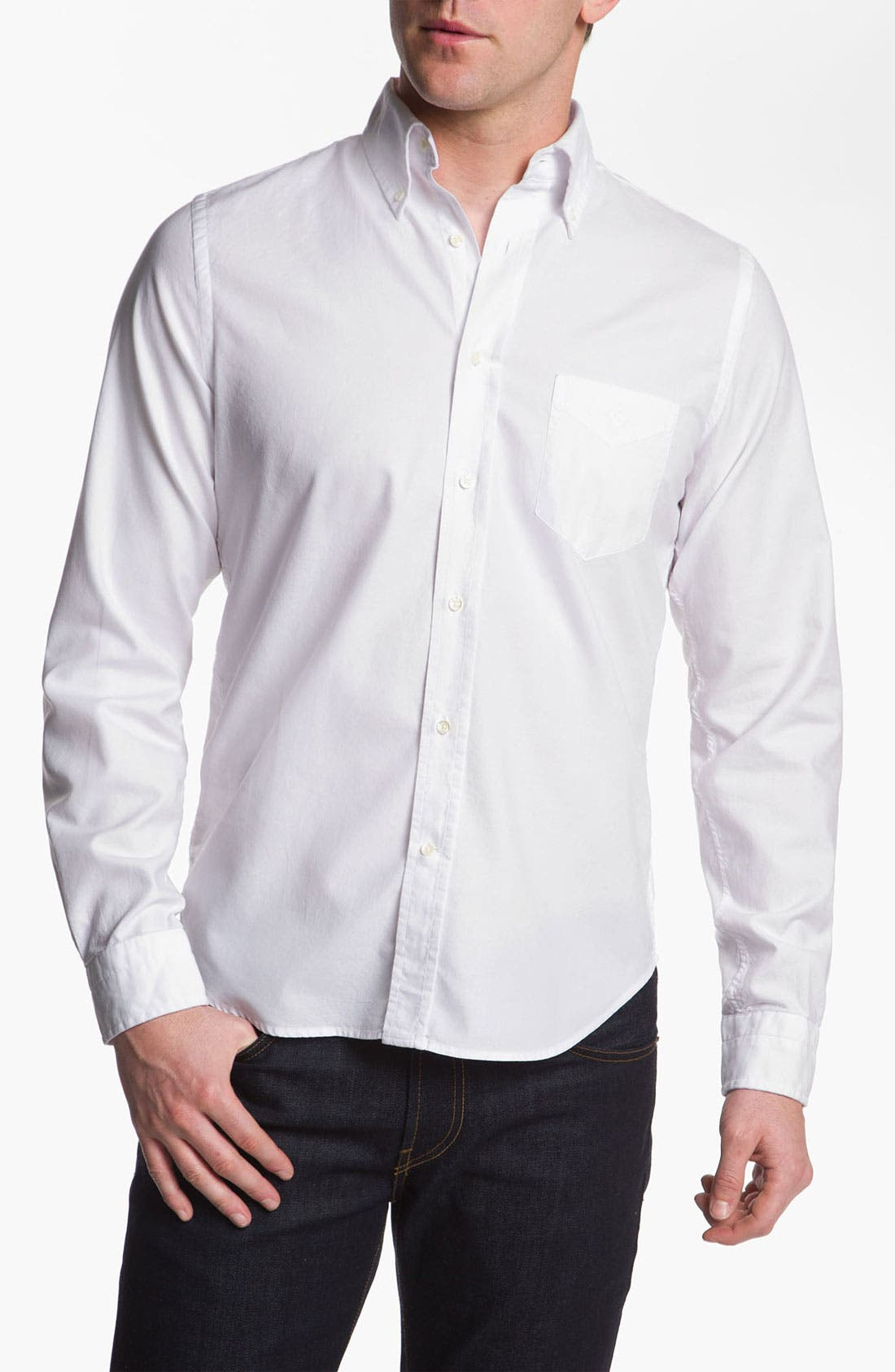 Alternate Image 1 Selected - Gant Rugger Oxford Shirt