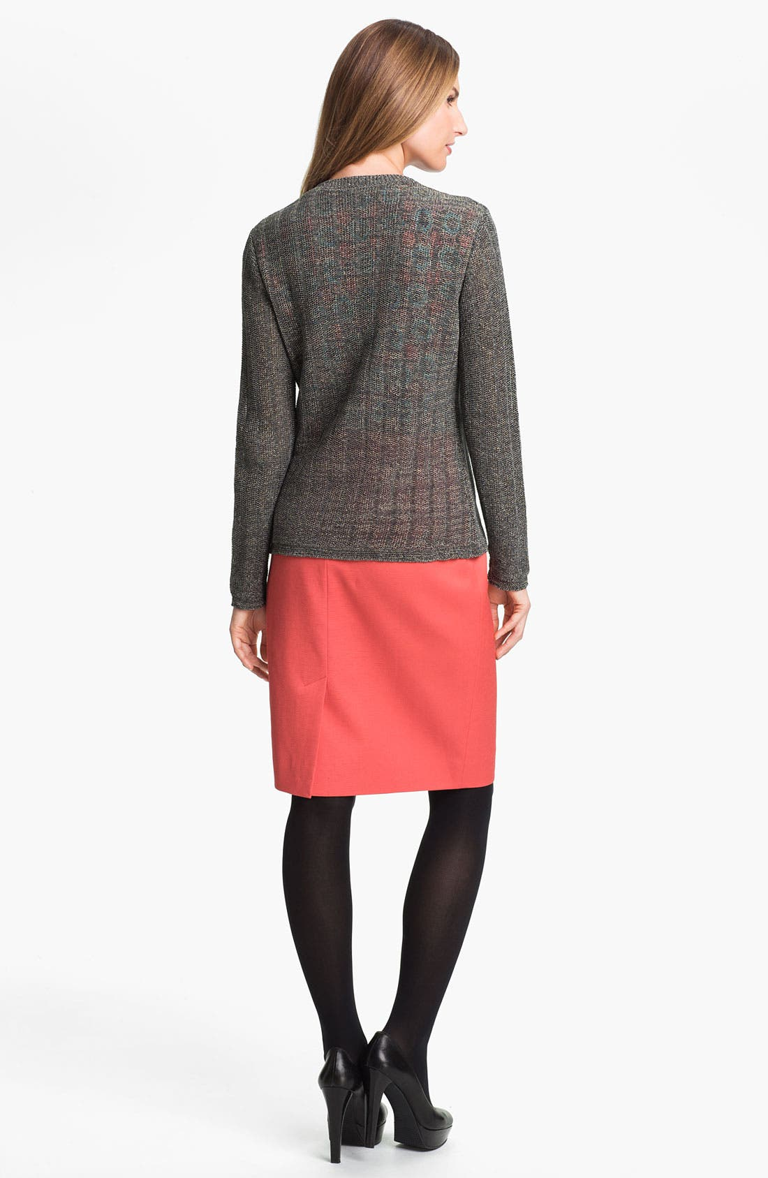 Alternate Image 5  - Classiques Entier® 'Taylor - Dobby' Skirt