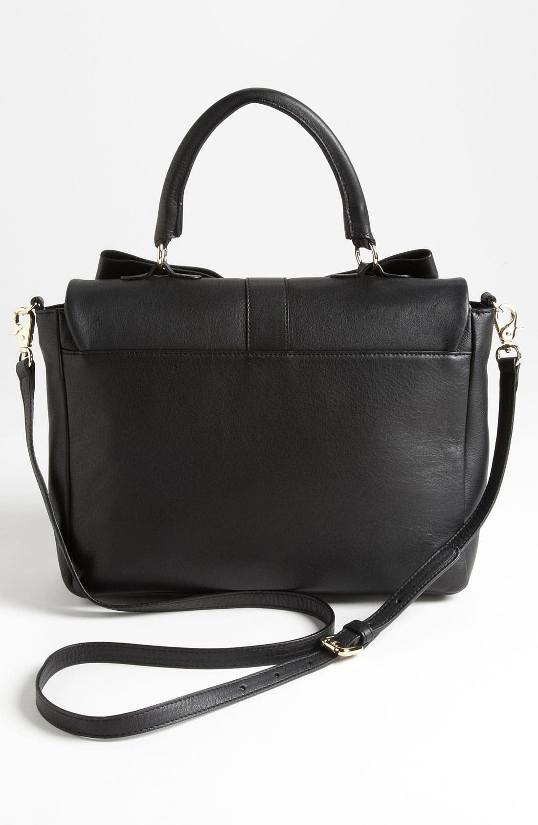 Alternate Image 4  - RED Valentino 'Bow' Top Handle Leather Satchel