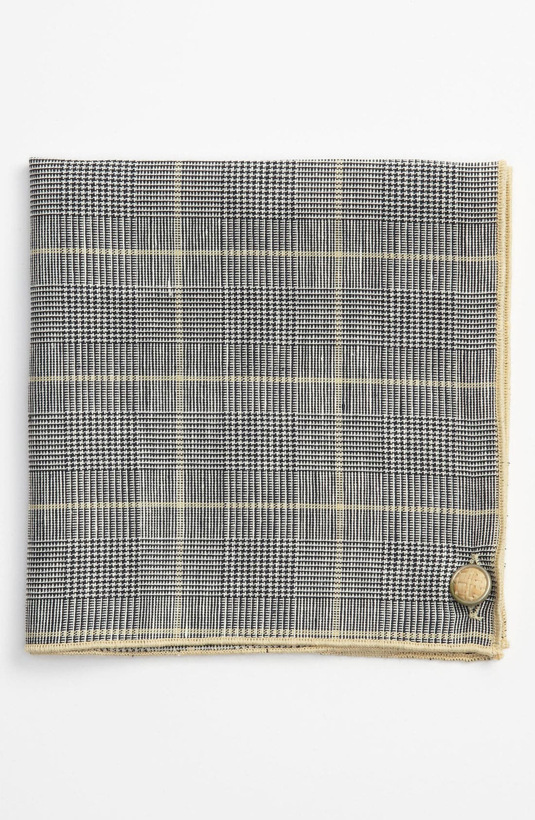 Main Image - Armstrong & Wilson Linen Pocket Square