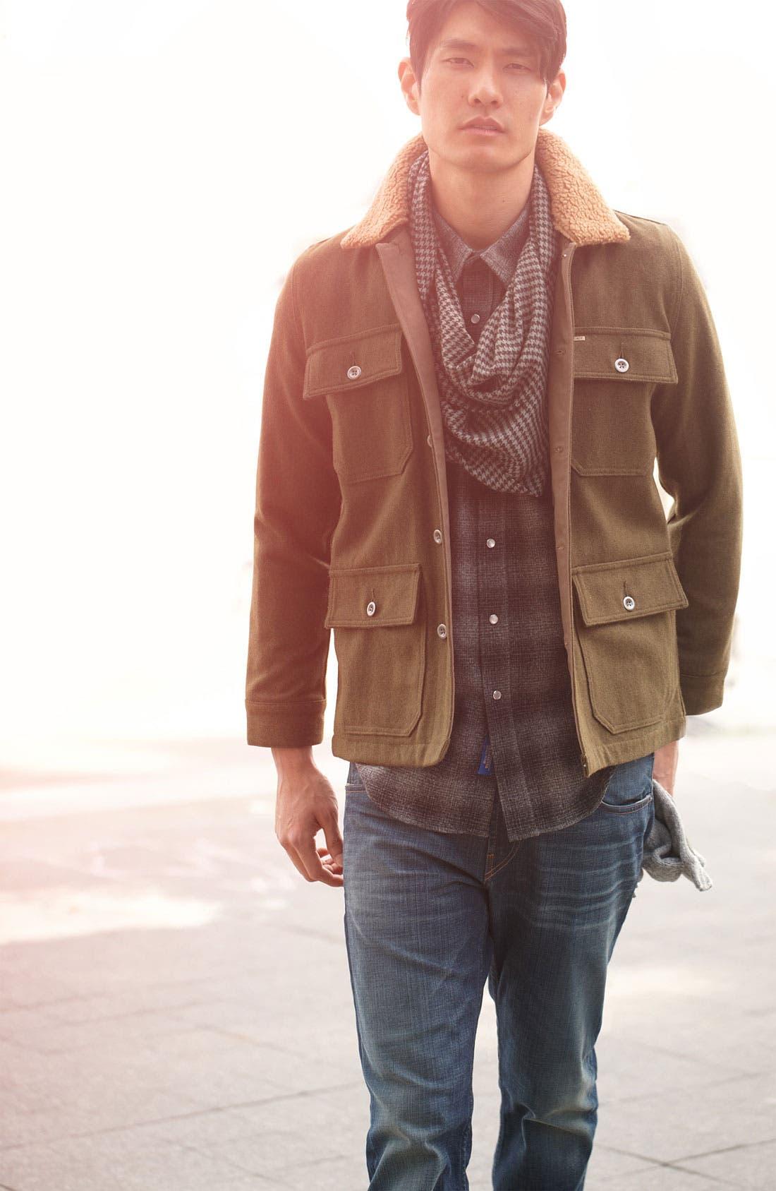 Alternate Image 4  - Obey 'Winston' Wool Workwear Jacket