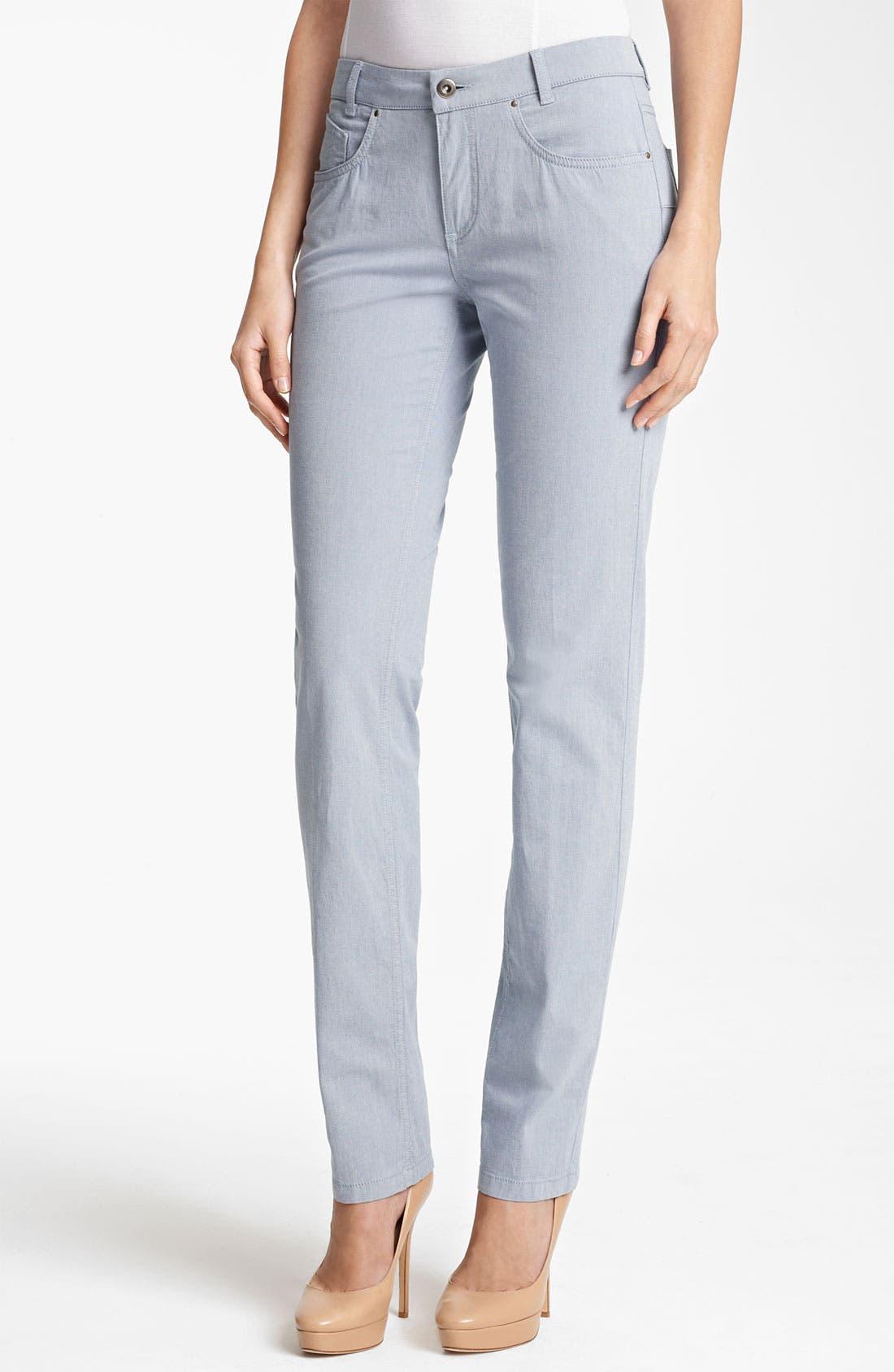 Alternate Image 1 Selected - Fabiana Filippi Slim Stretch Jeans