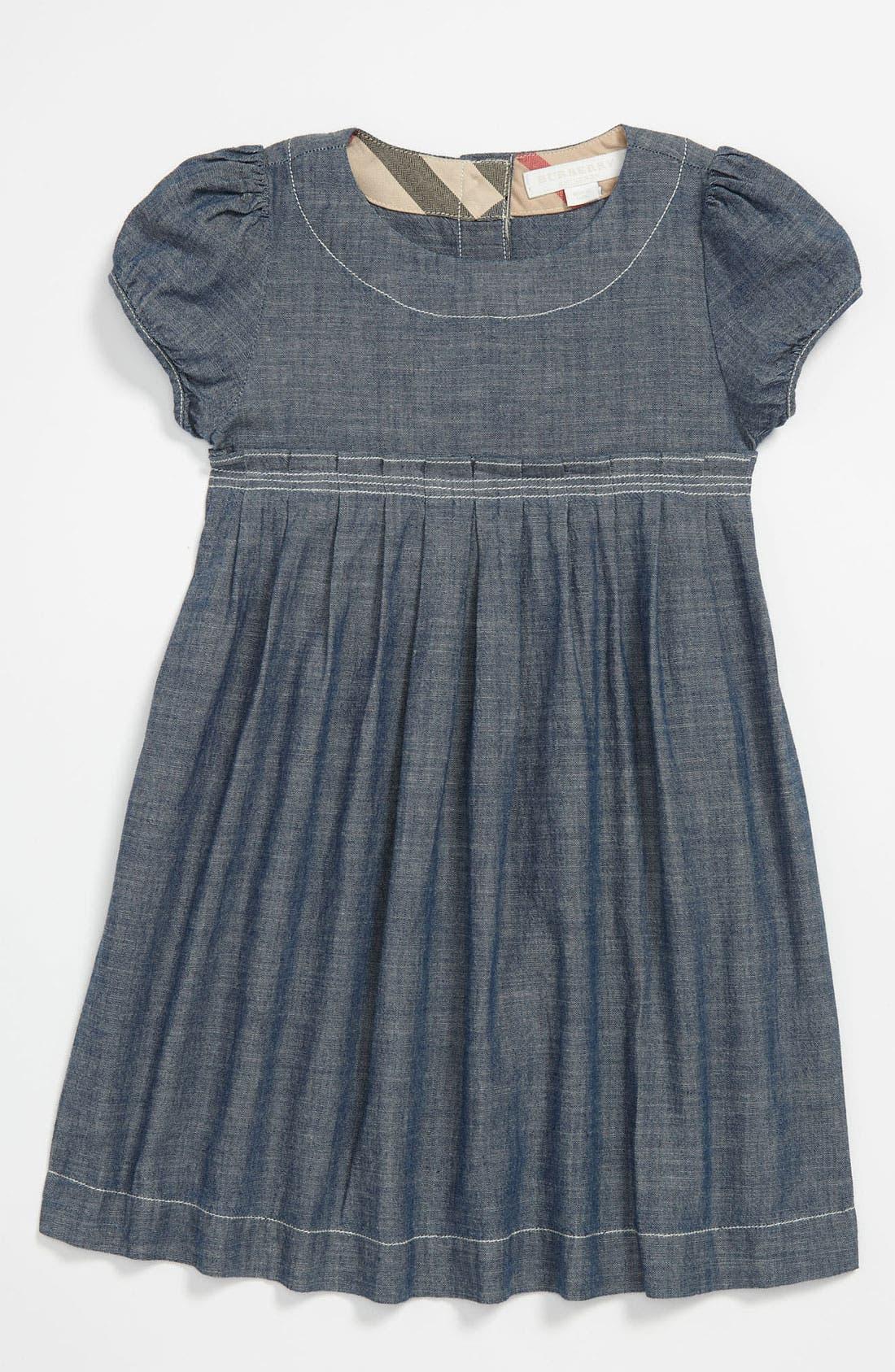 Main Image - Burberry 'Coralie' Dress (Toddler)
