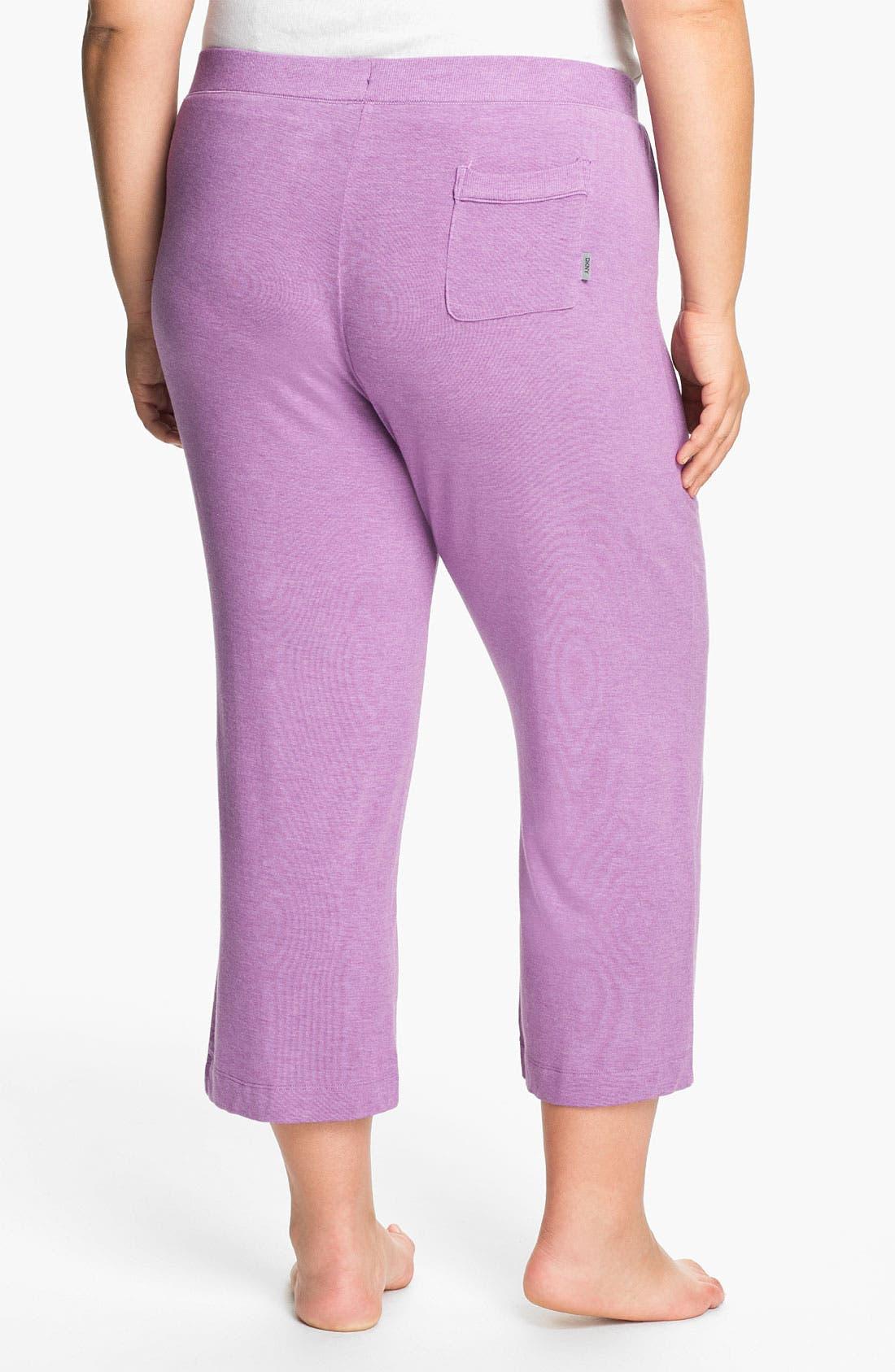 Alternate Image 2  - DKNY '7 Easy Pieces' Capri Pants (Plus Size)
