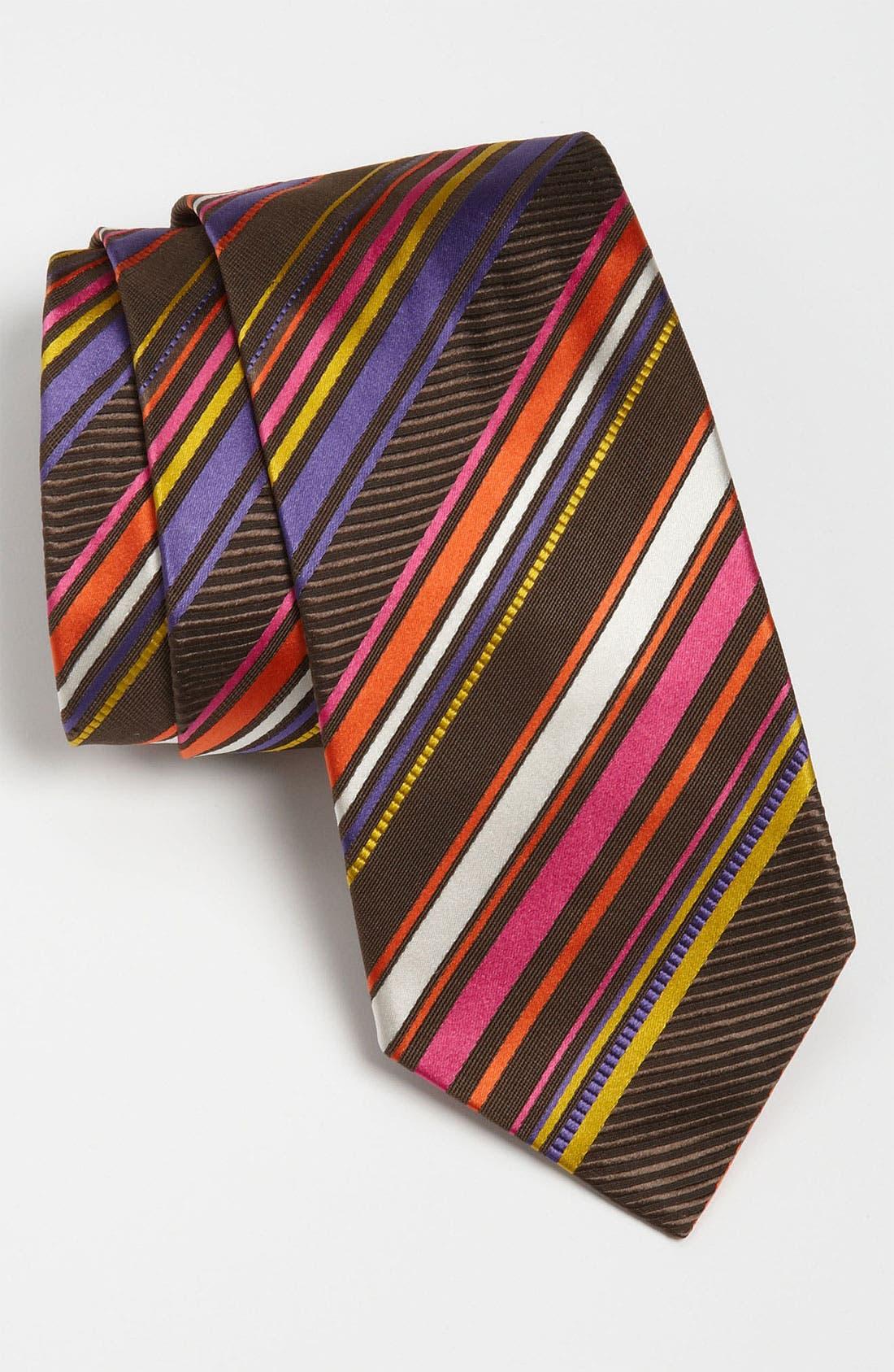 Alternate Image 1 Selected - Etro Woven Silk Tie