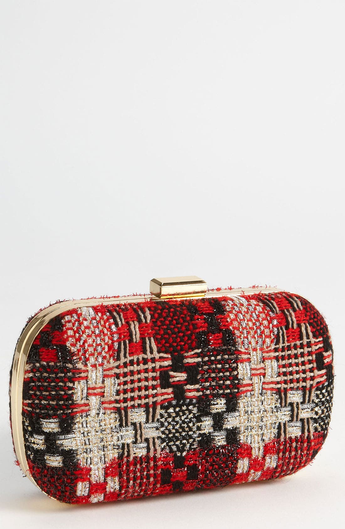Main Image - Natasha Couture Tweed Clutch