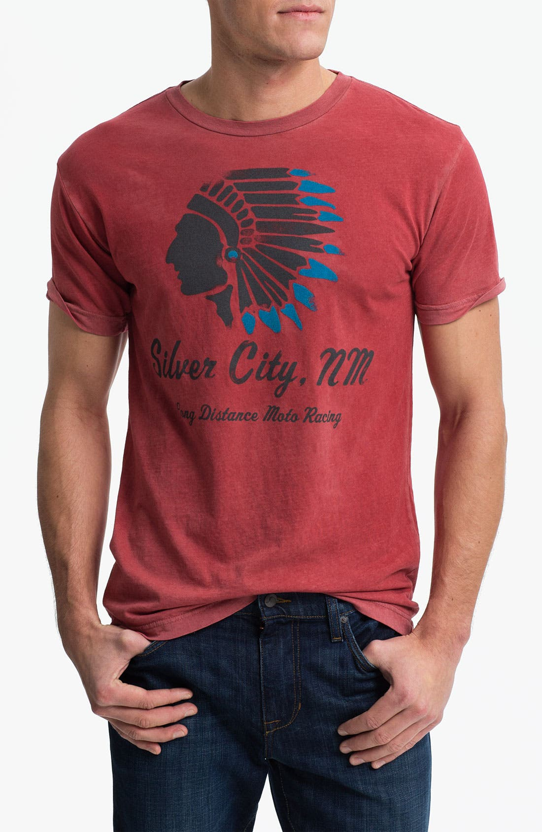 'Silver City, NM' Graphic T-Shirt,                         Main,                         color, Red