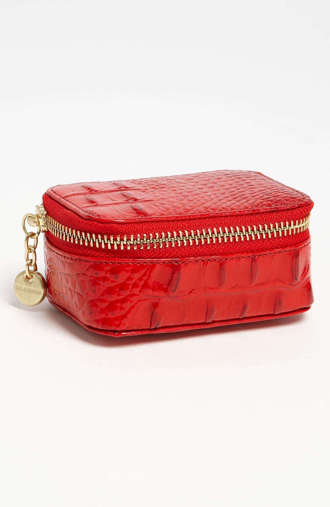 Alternate Image 1 Selected - Brahmin Leather Pill Case