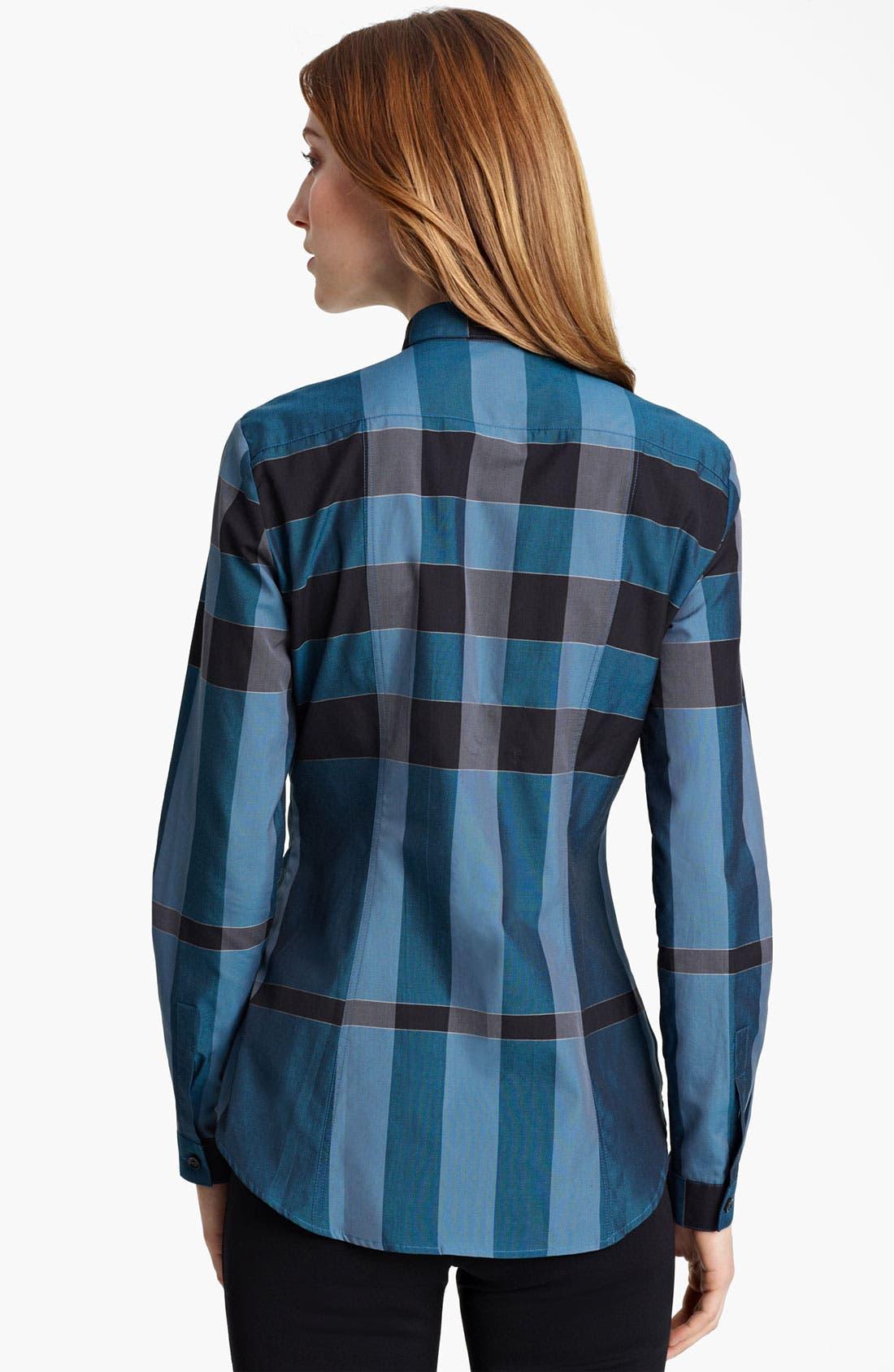 Alternate Image 2  - Burberry London Check Shirt