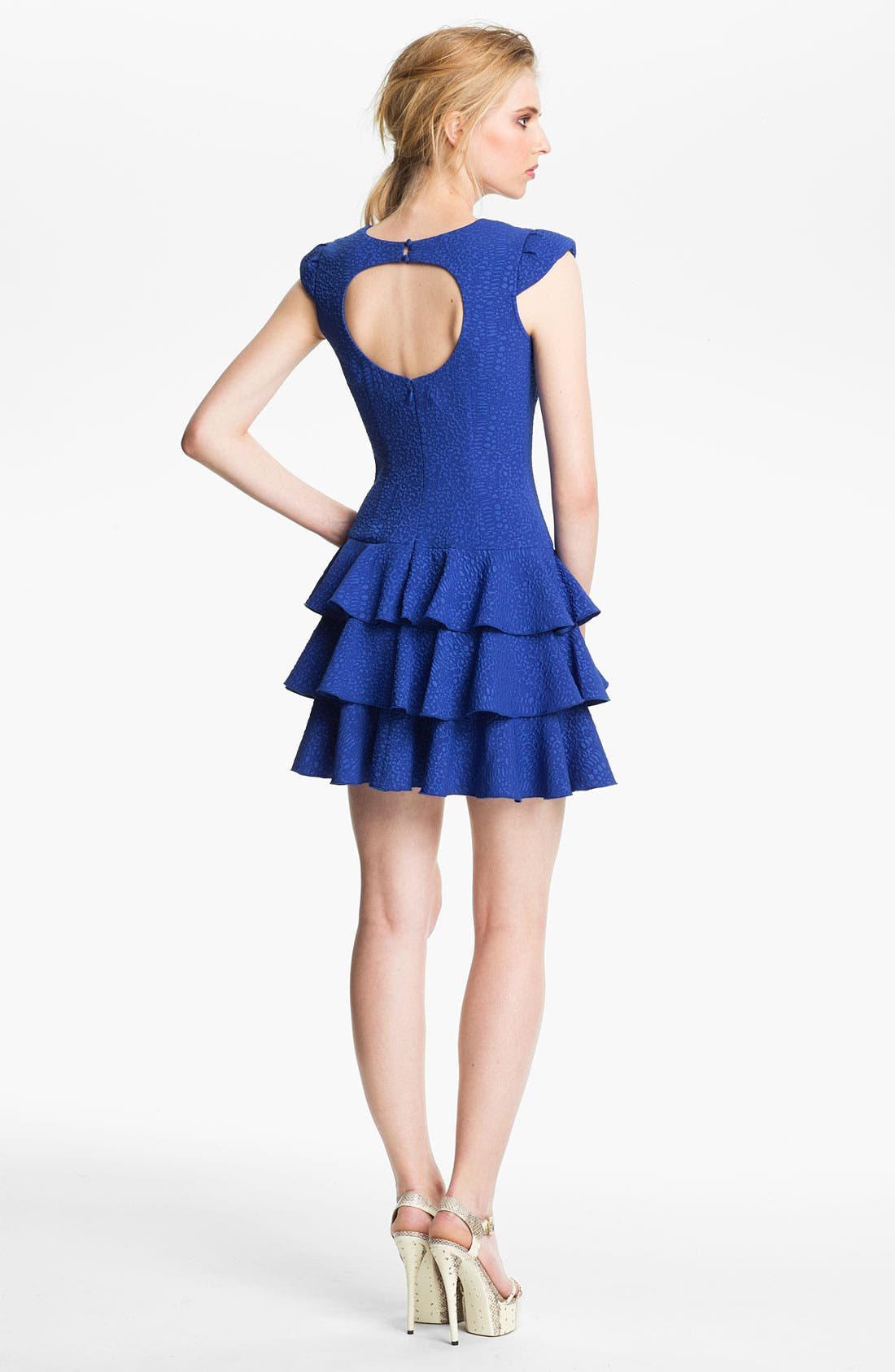 Alternate Image 2  - Rachel Zoe Cutout Back Dress
