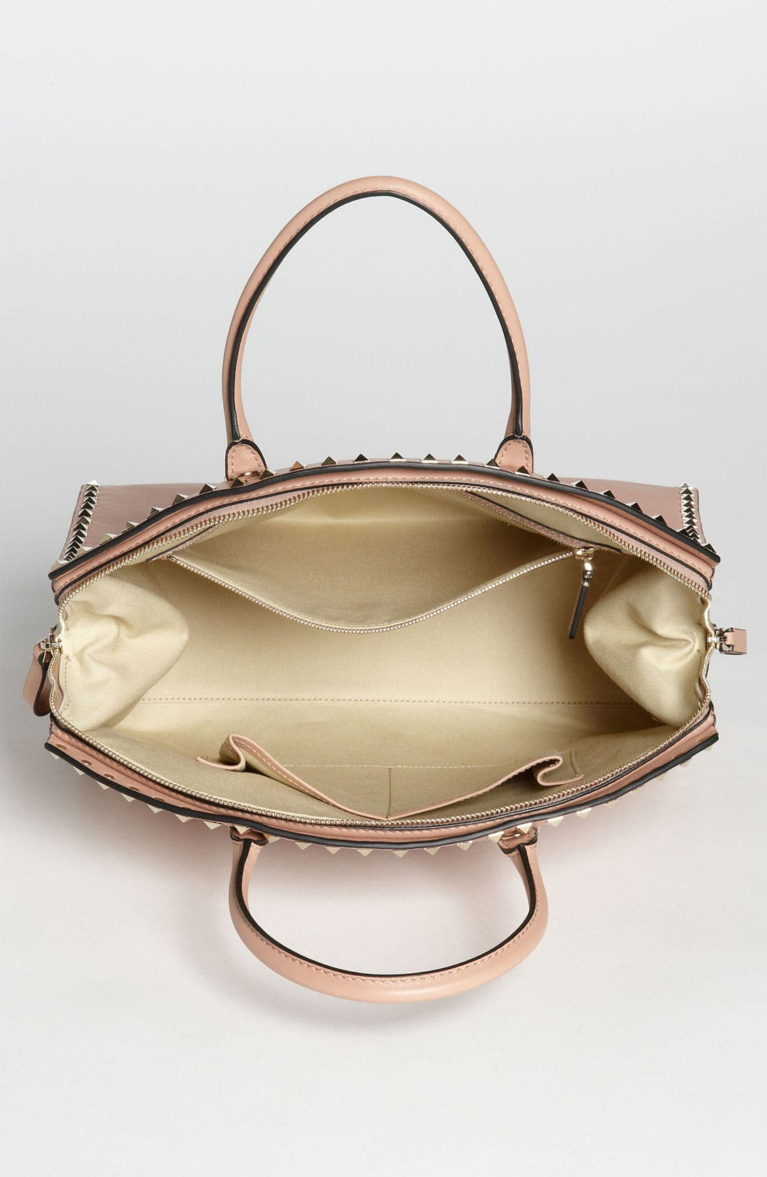 Alternate Image 3  - Valentino 'Rockstud' Leather Dome Satchel