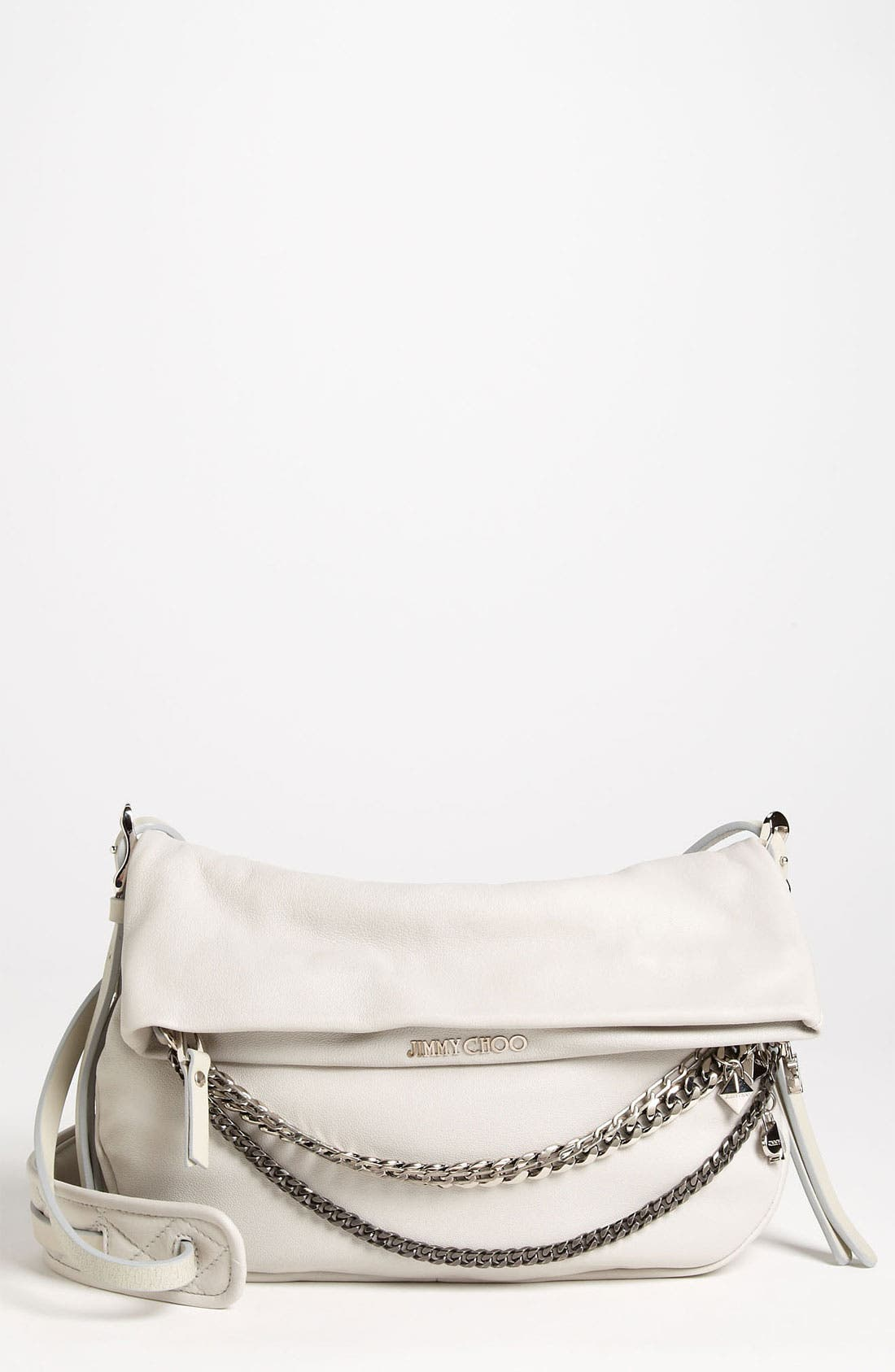 Alternate Image 1 Selected - Jimmy Choo 'Biker - Small' Leather Crossbody Bag