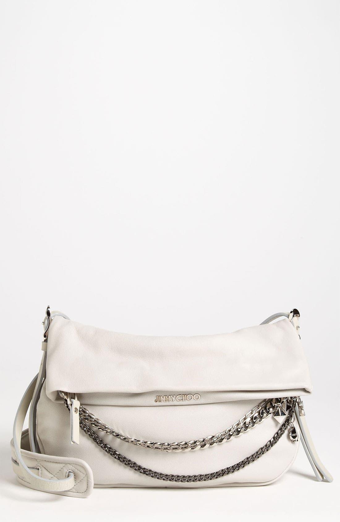 Main Image - Jimmy Choo 'Biker - Small' Leather Crossbody Bag