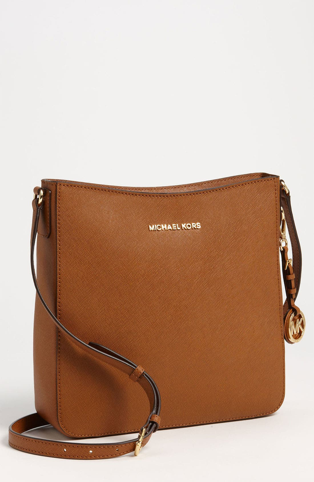 Alternate Image 1 Selected - MICHAEL Michael Kors 'Jet Set - Large' Crossbody Bag