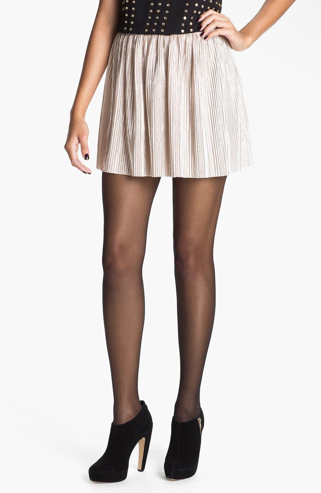 Main Image - h.i.p. 'Liquid' Skirt (Juniors)