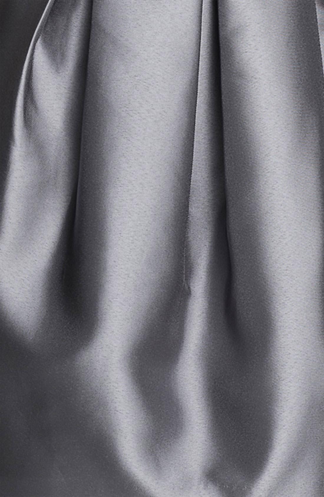 Alternate Image 3  - Eliza J Sweetheart Neckline Taffeta Tulip Dress