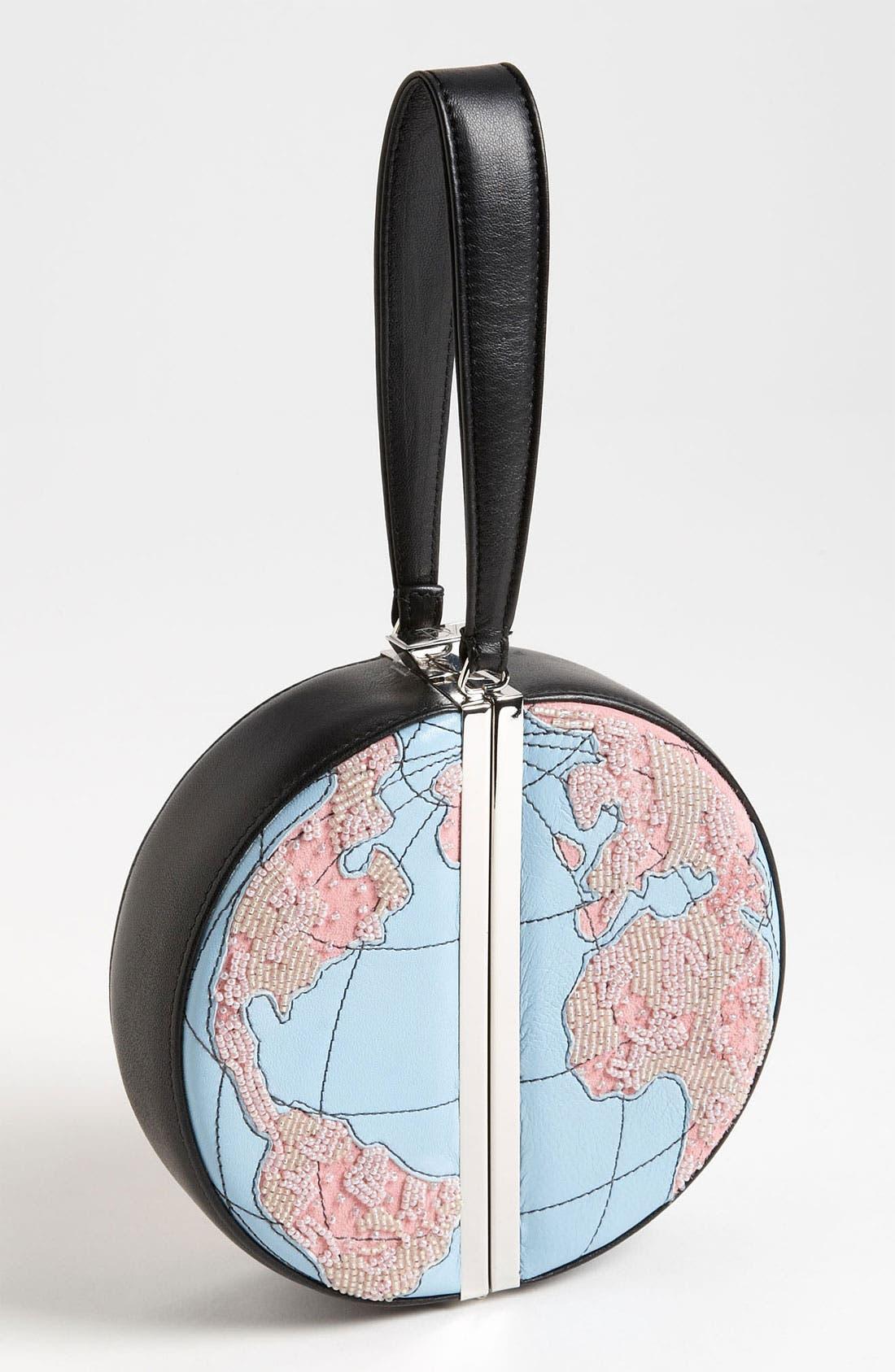 Alternate Image 1 Selected - Diane von Furstenberg 'Globe' Wristlet (Limited Edition)