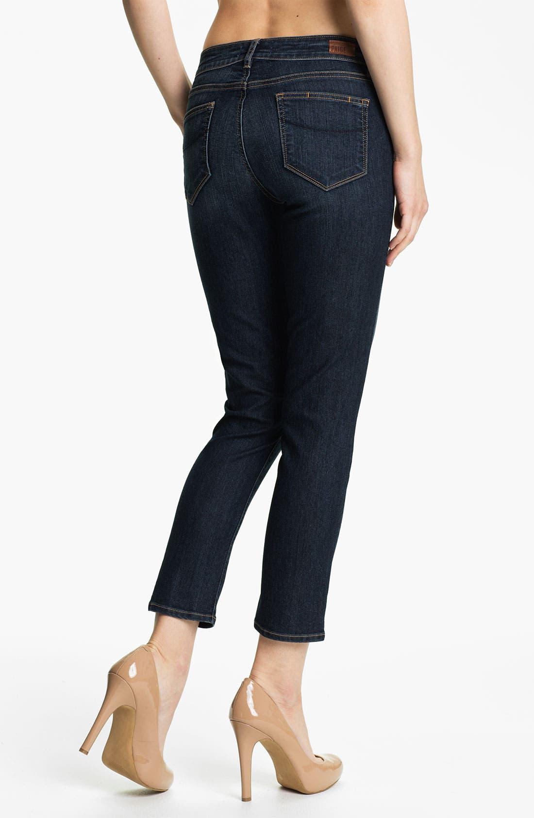 Alternate Image 2  - Paige Denim 'Kylie' Crop Skinny Jeans (Sedona)