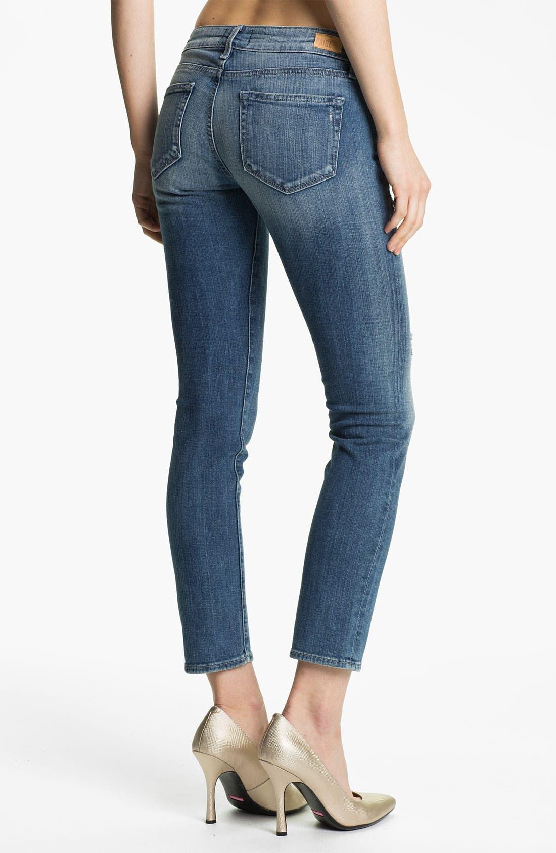 Alternate Image 2  - Paige Denim 'Skyline' Ankle Peg Skinny Stretch Jeans (Sadie)