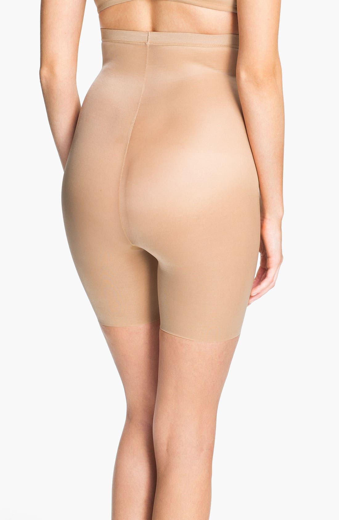 Alternate Image 2  - SPANX® 'Skinny Britches' High Waist Shorts (Shaper)