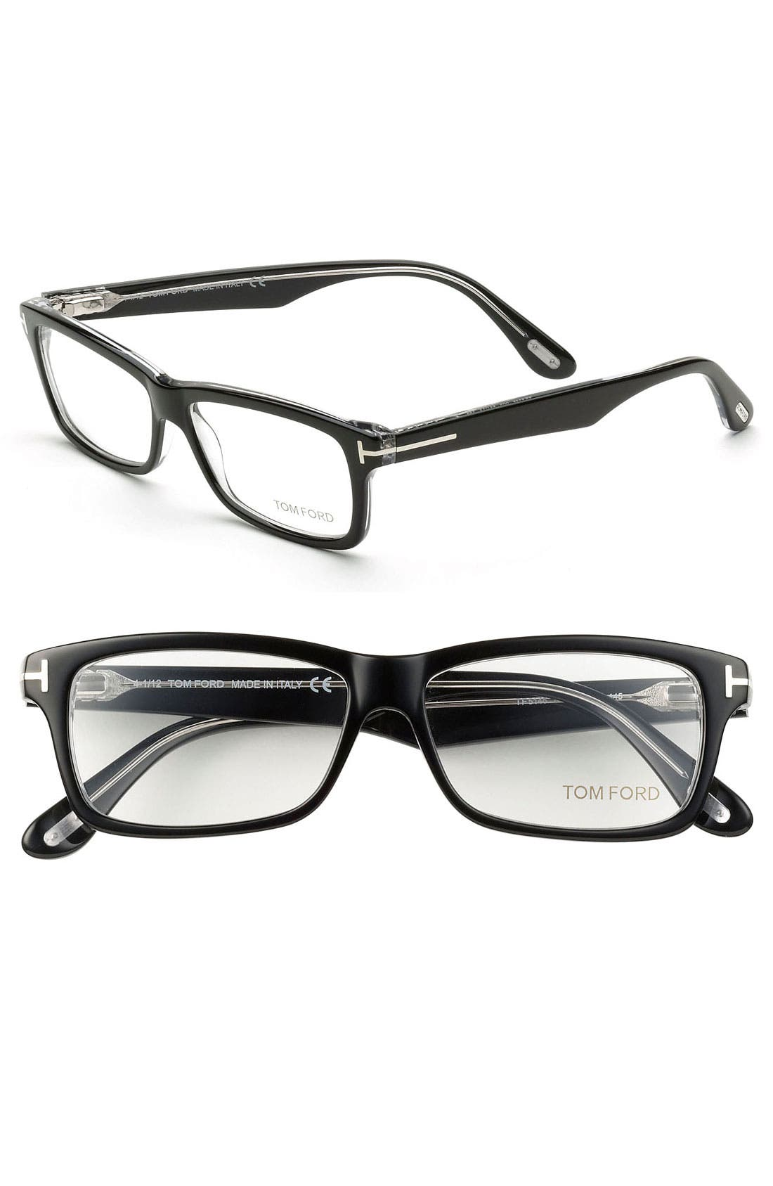 Main Image - Tom Ford Fashion 54mm Optical Glasses (Online Only)