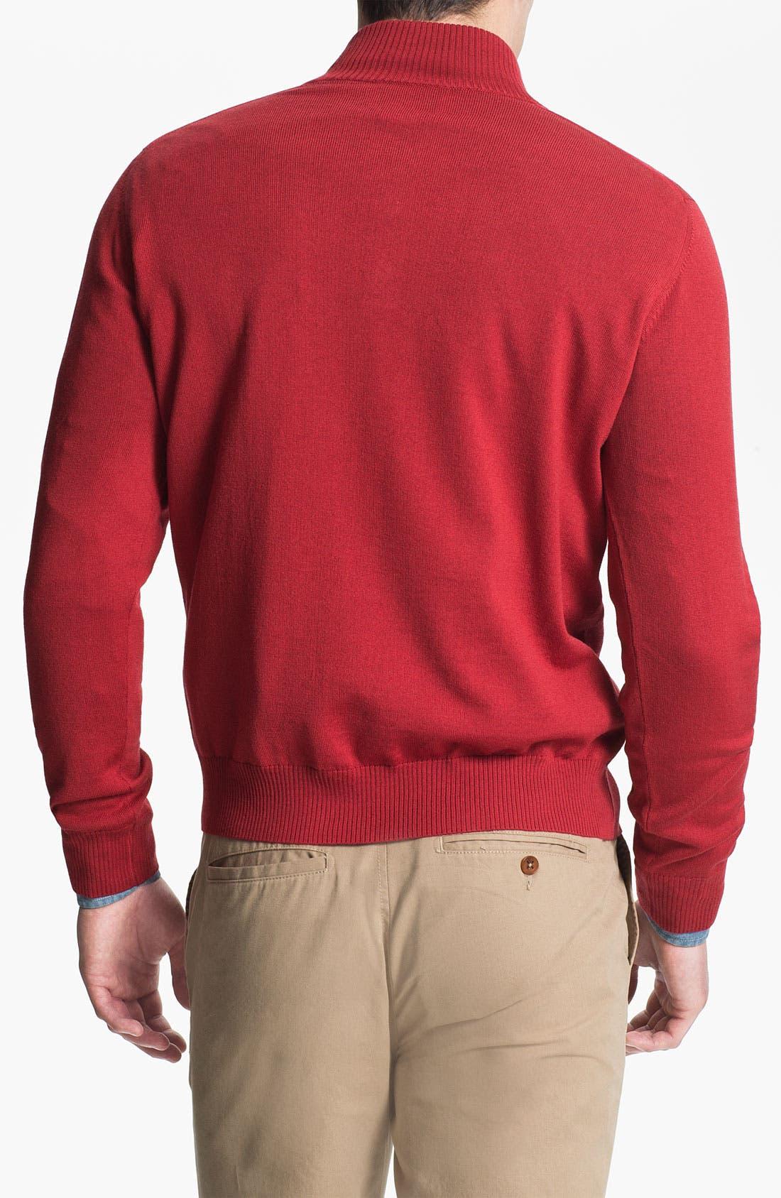 Alternate Image 2  - Thomas Dean 'Oklahoma' Wool Sweater