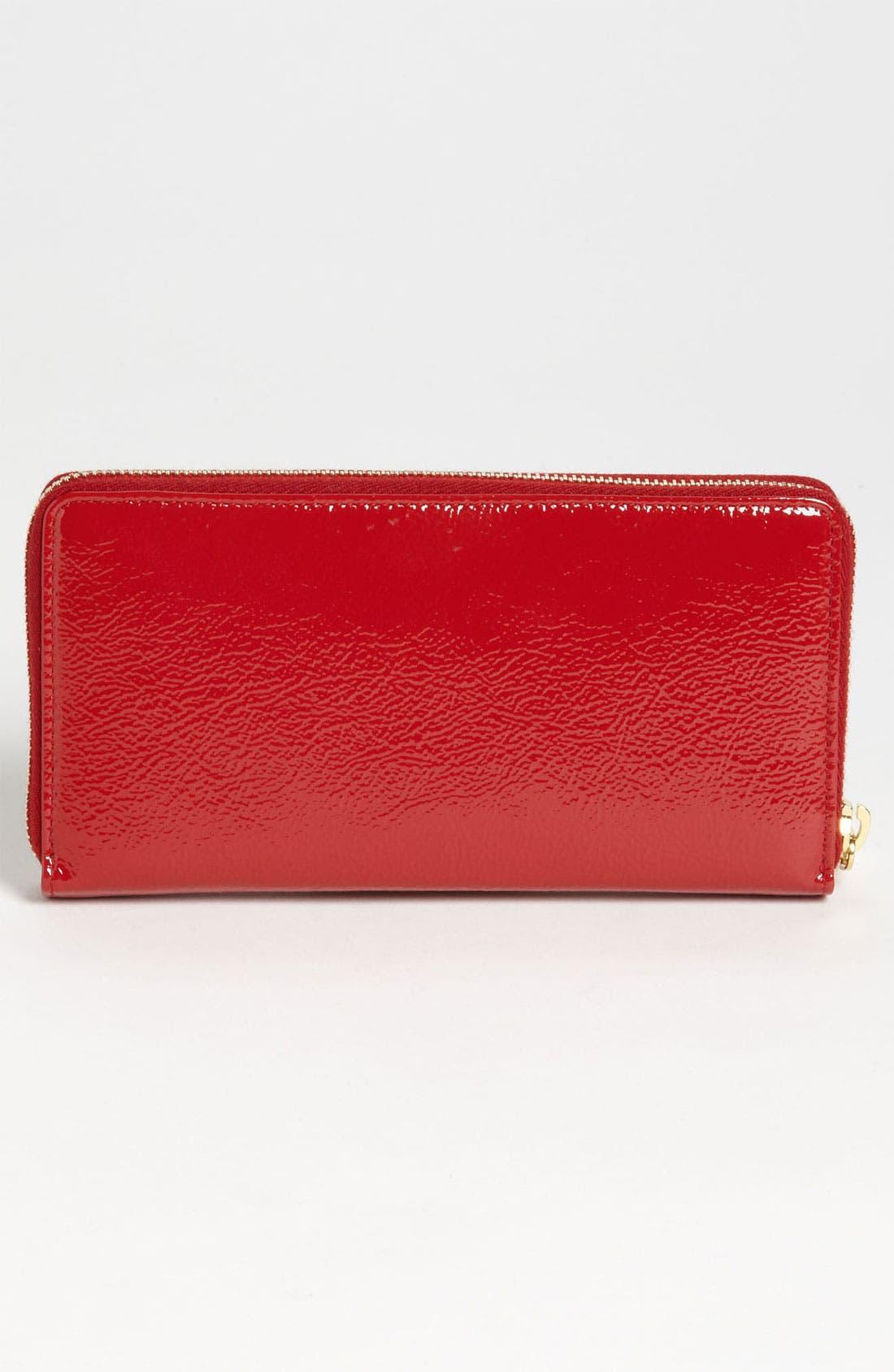 Alternate Image 4  - Saint Laurent 'Belle de Jour' Leather Wallet