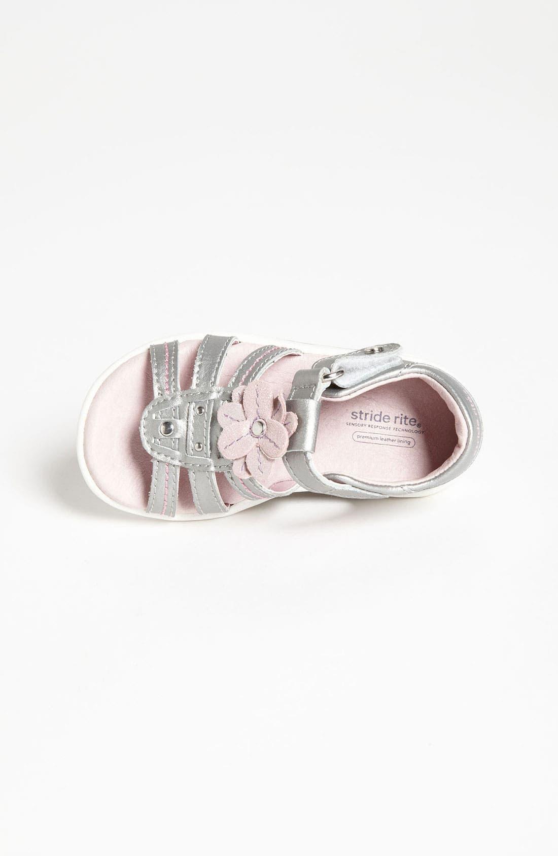 Alternate Image 3  - Stride Rite 'Brenna' Sandal (Baby, Walker & Toddler)