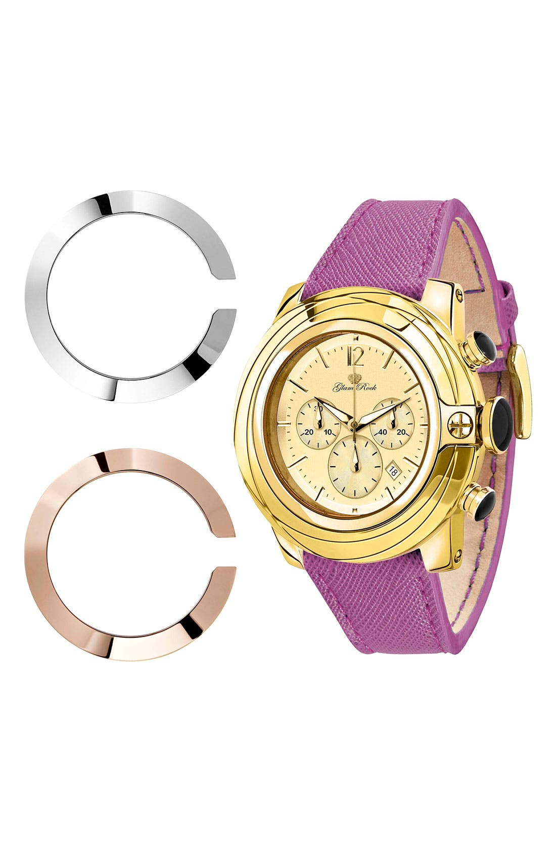 Alternate Image 2  - Glam Rock 'So Be - Lady' Chronograph Watch