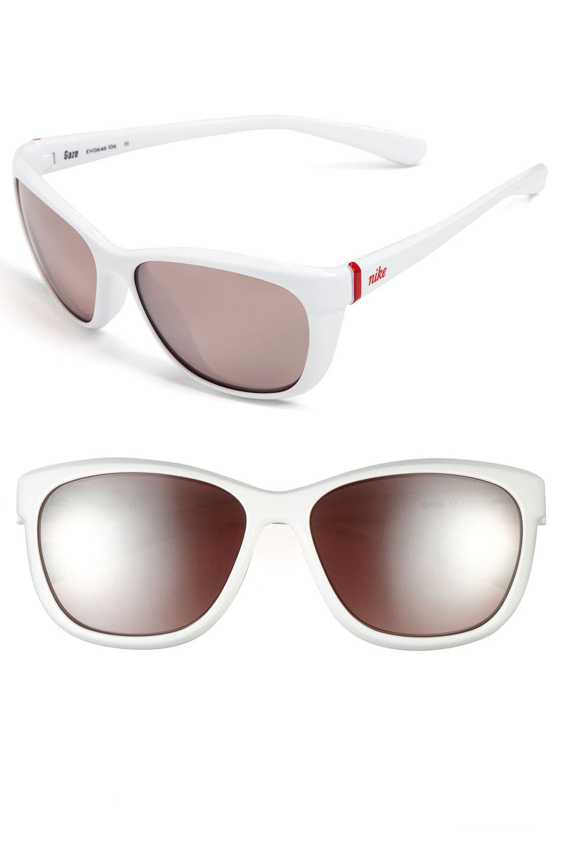 Main Image - Nike 'Gaze' 58mm Sunglasses