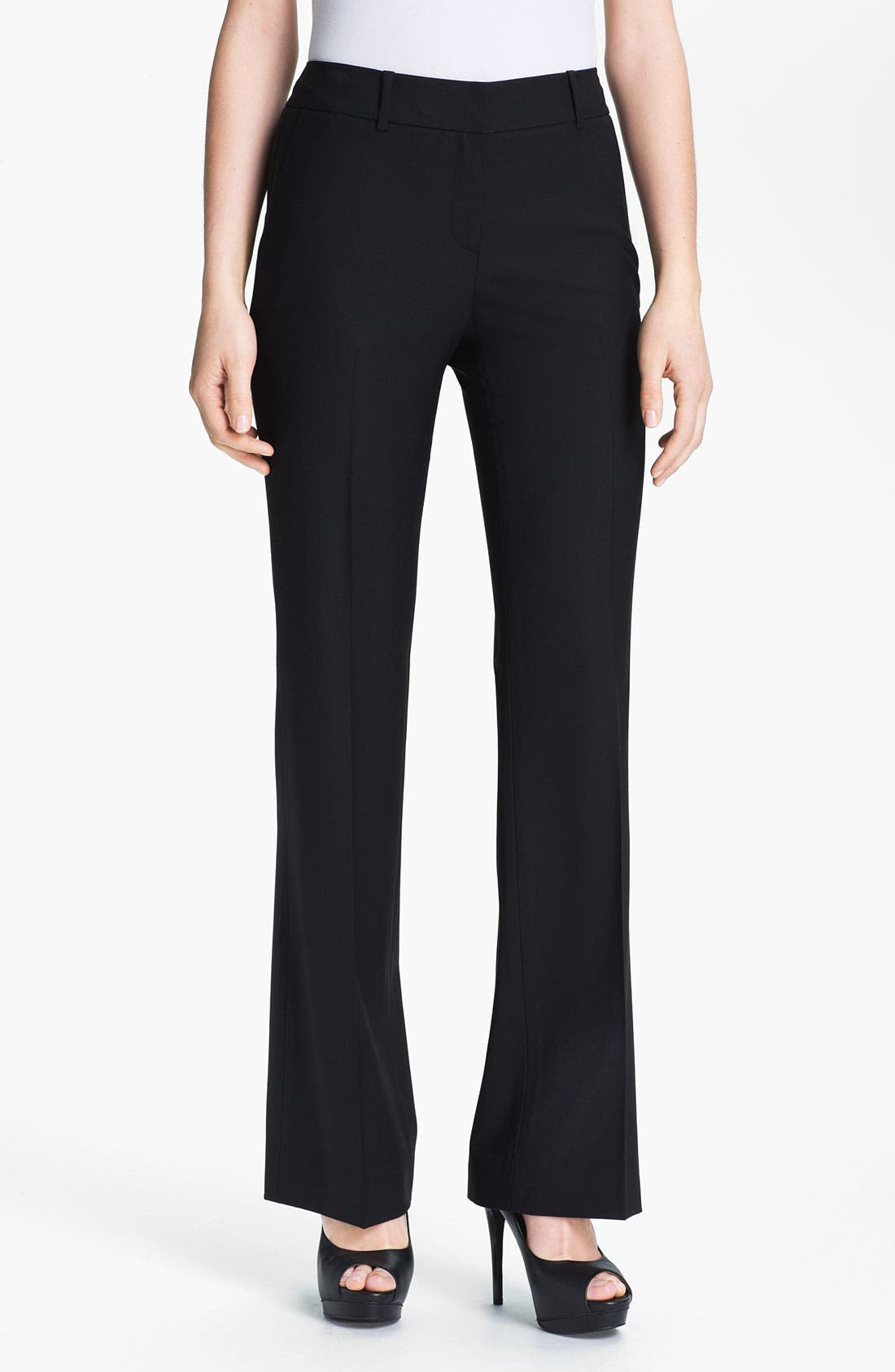 Alternate Image 1 Selected - Classiques Entier Stretch Wool Pants