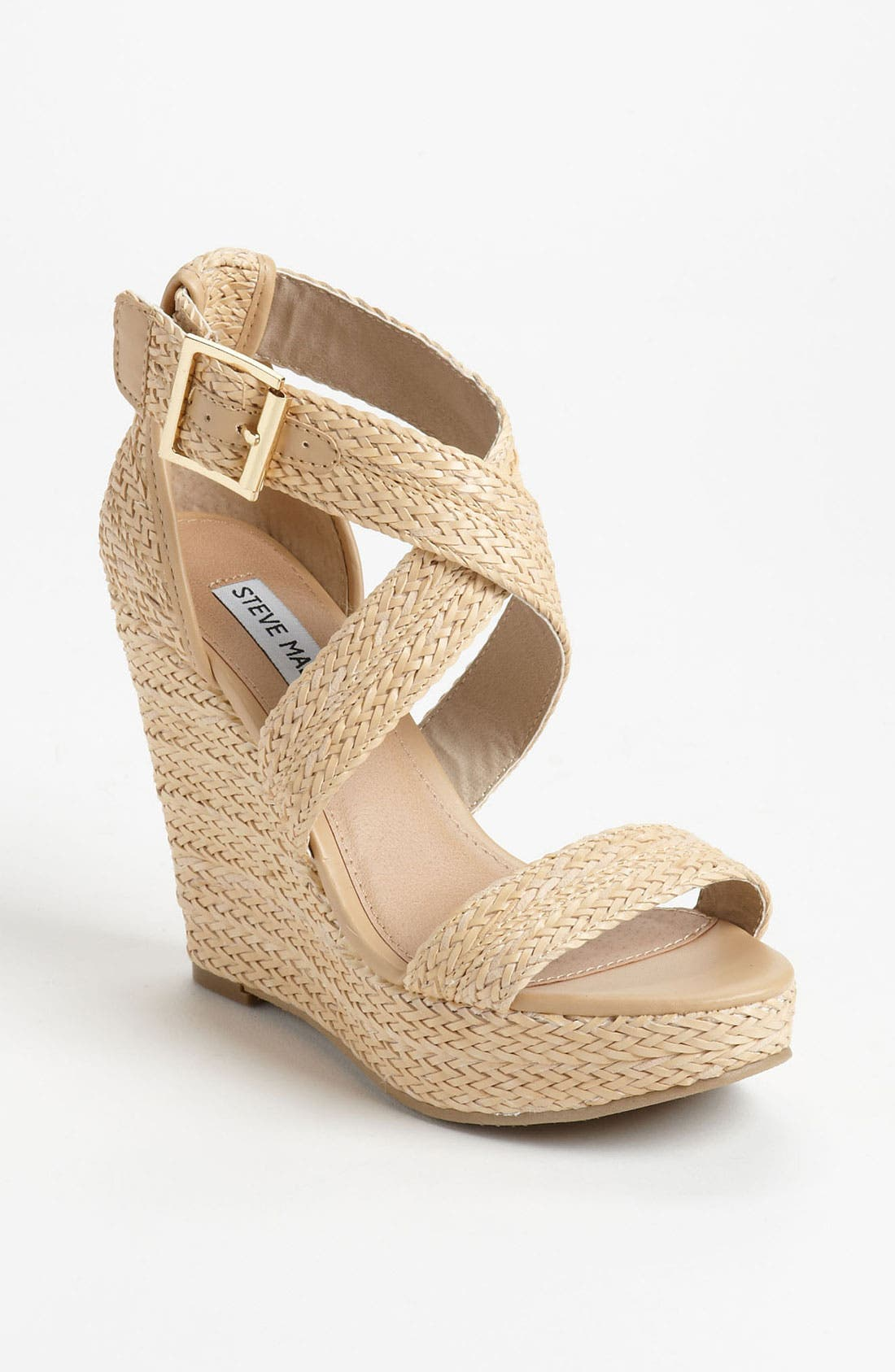 Alternate Image 1 Selected - Steve Madden 'Haywire' Wedge Sandal