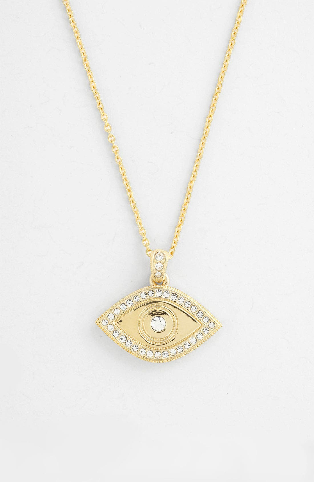 Alternate Image 1 Selected - Nadri Eye Pendant Necklace (Nordstrom Exclusive)