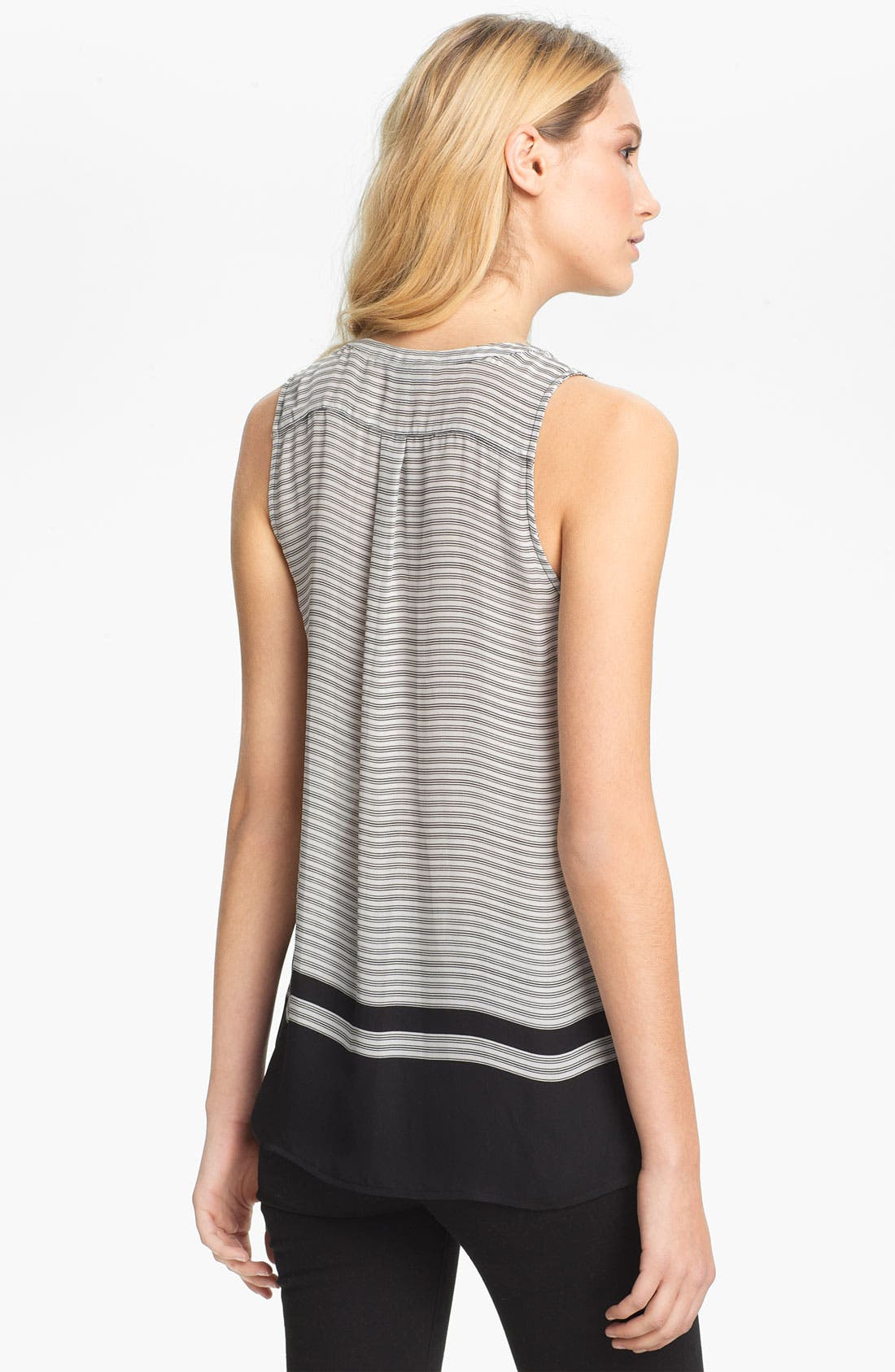 Alternate Image 2  - Joie 'Ameritt B' Sleeveless Silk Top