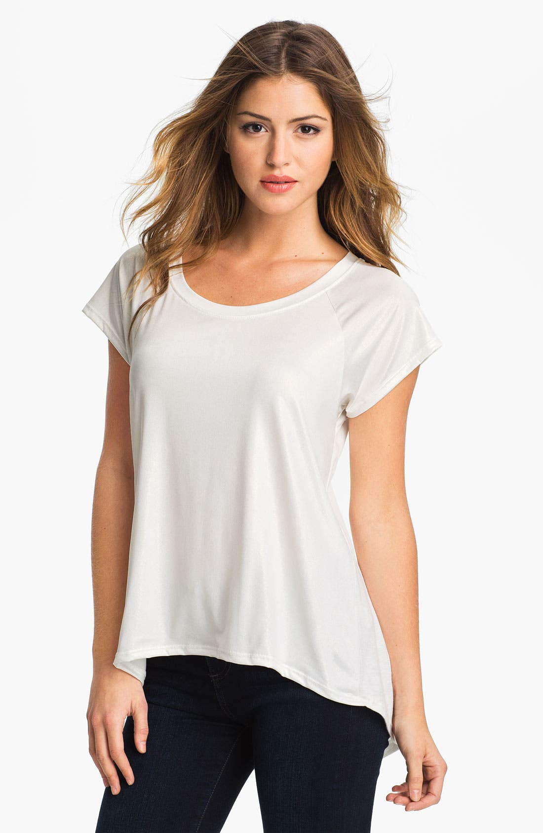 Alternate Image 1 Selected - MOD.lusive Coated Front Tee