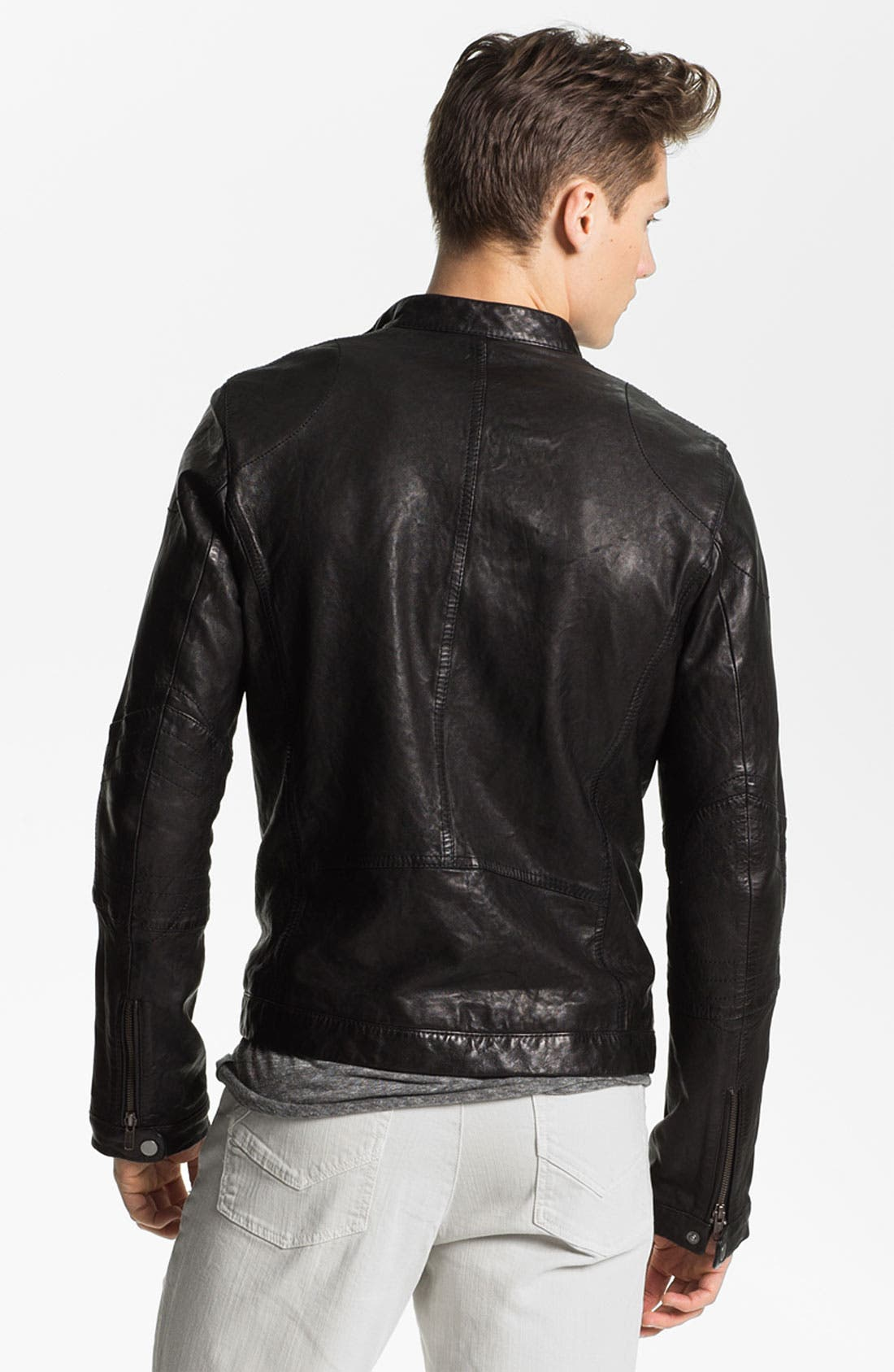 Alternate Image 2  - Zadig & Voltaire Leather Jacket