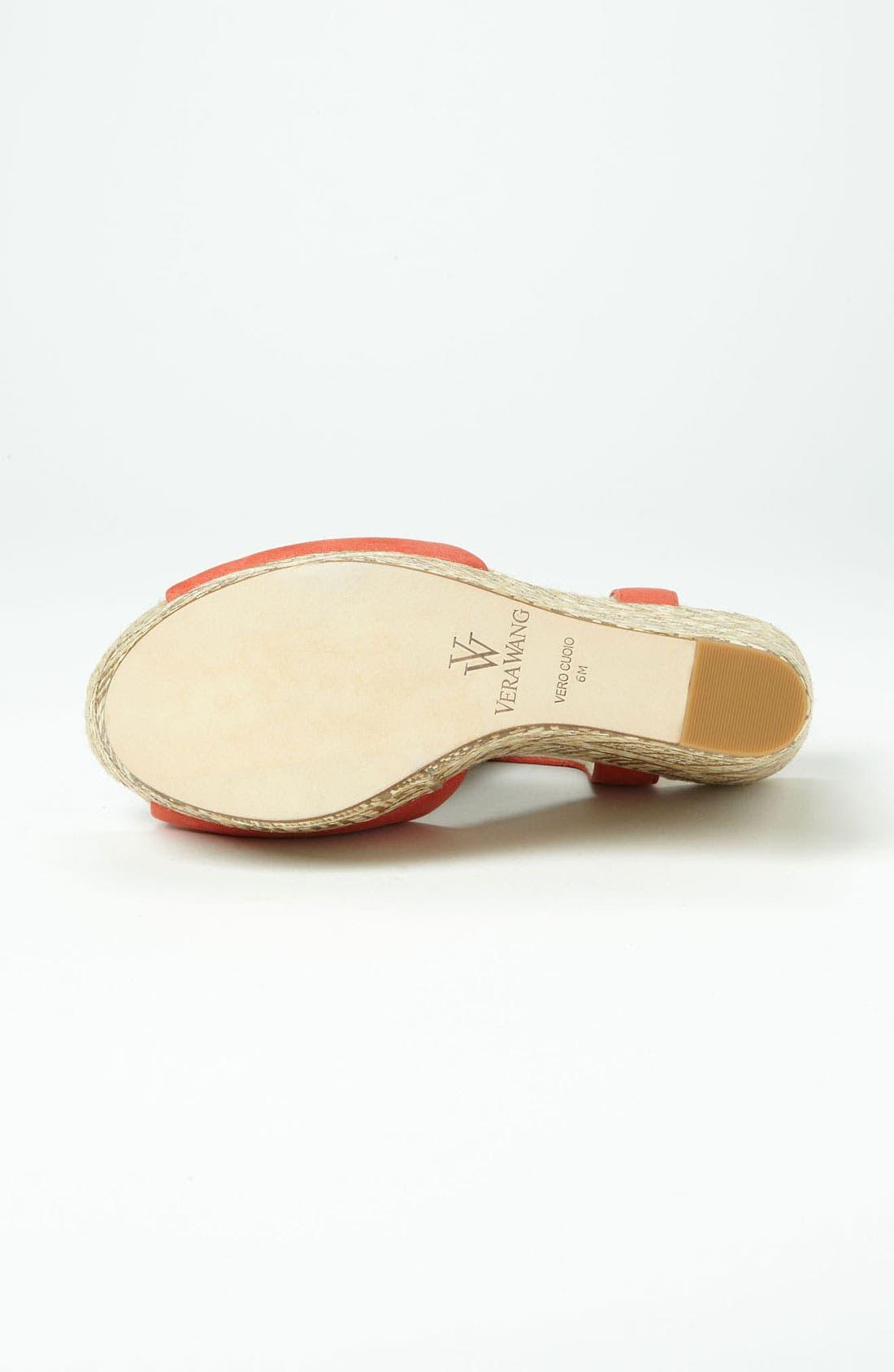 Alternate Image 4  - Vera Wang Footwear Wedge Sandal