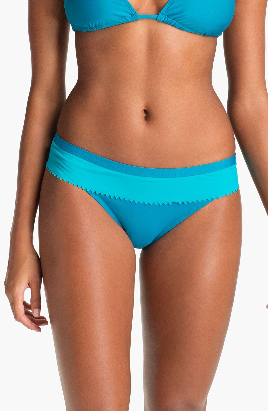 Alternate Image 1 Selected - Eco Swim Banded Hipster Bikini Bottom