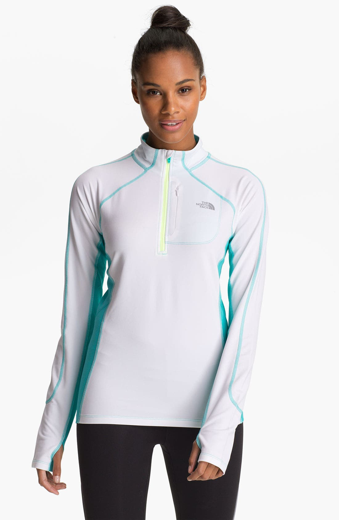 Alternate Image 1 Selected - The North Face 'Impulse' Quarter Zip Top