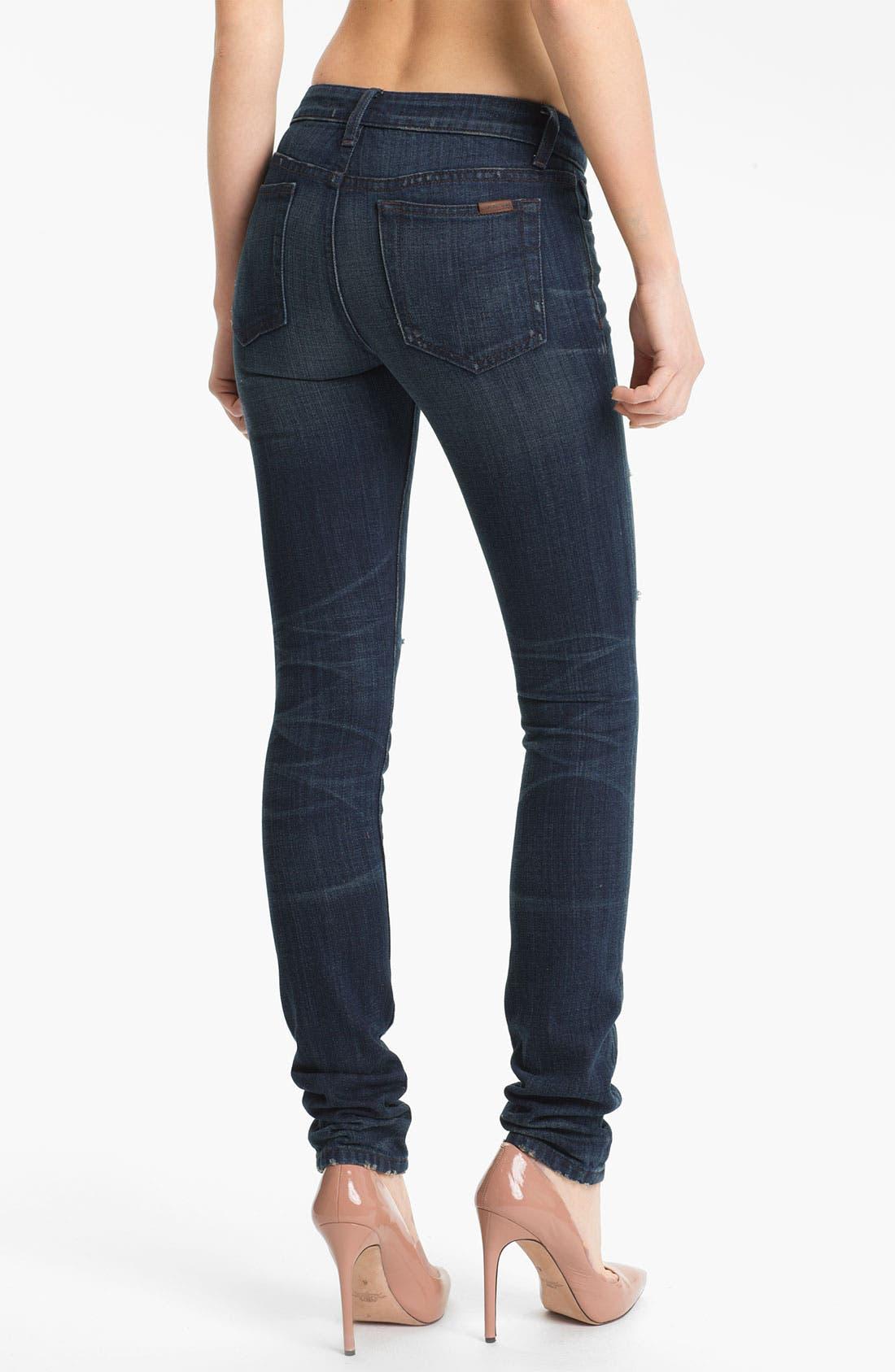 Alternate Image 2  - Joe's 'The Skinny' Distressed Stretch Jeans (Macey)