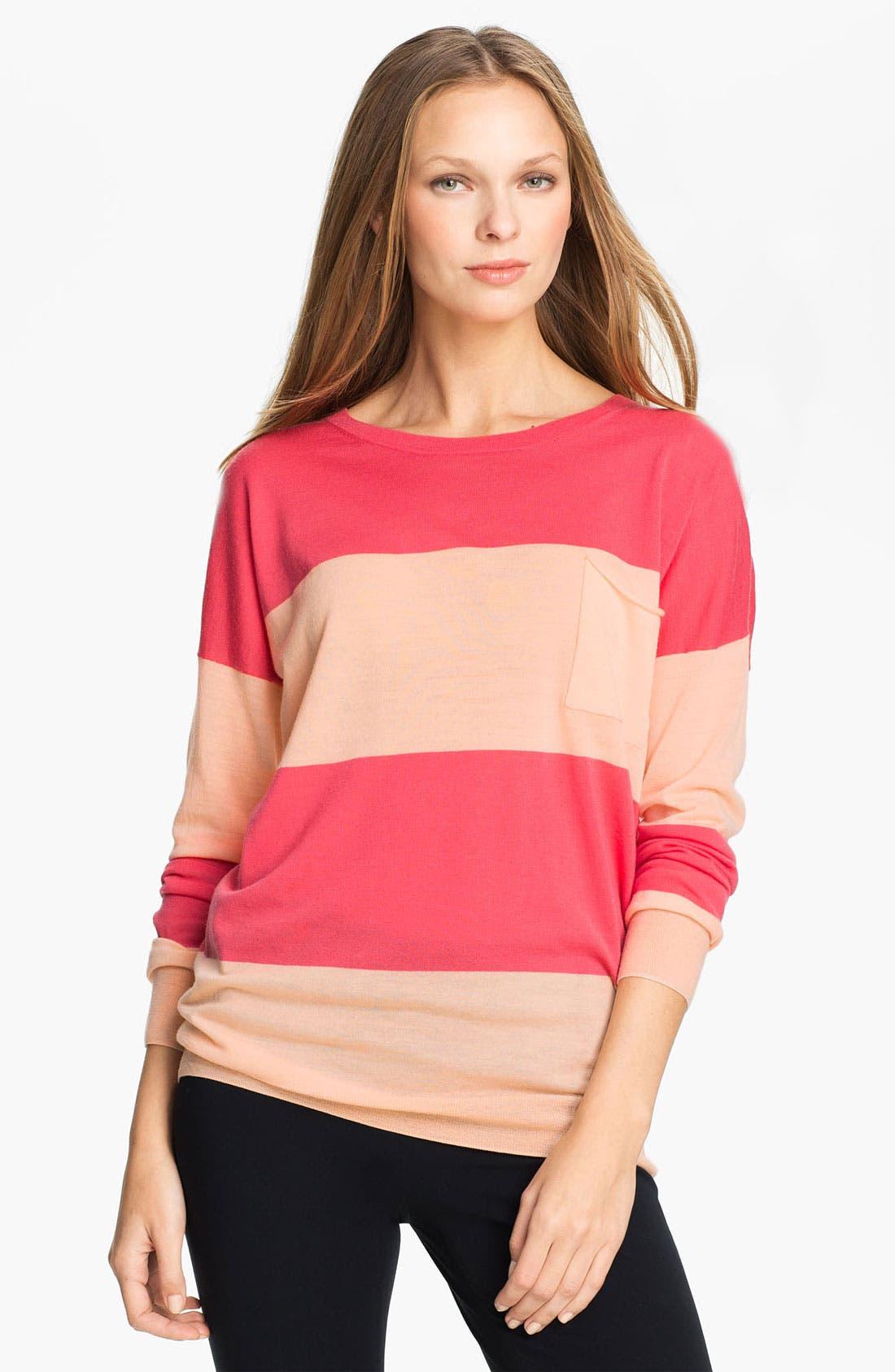 Alternate Image 1 Selected - Theory 'Tollie S.' Merino Wool Sweater