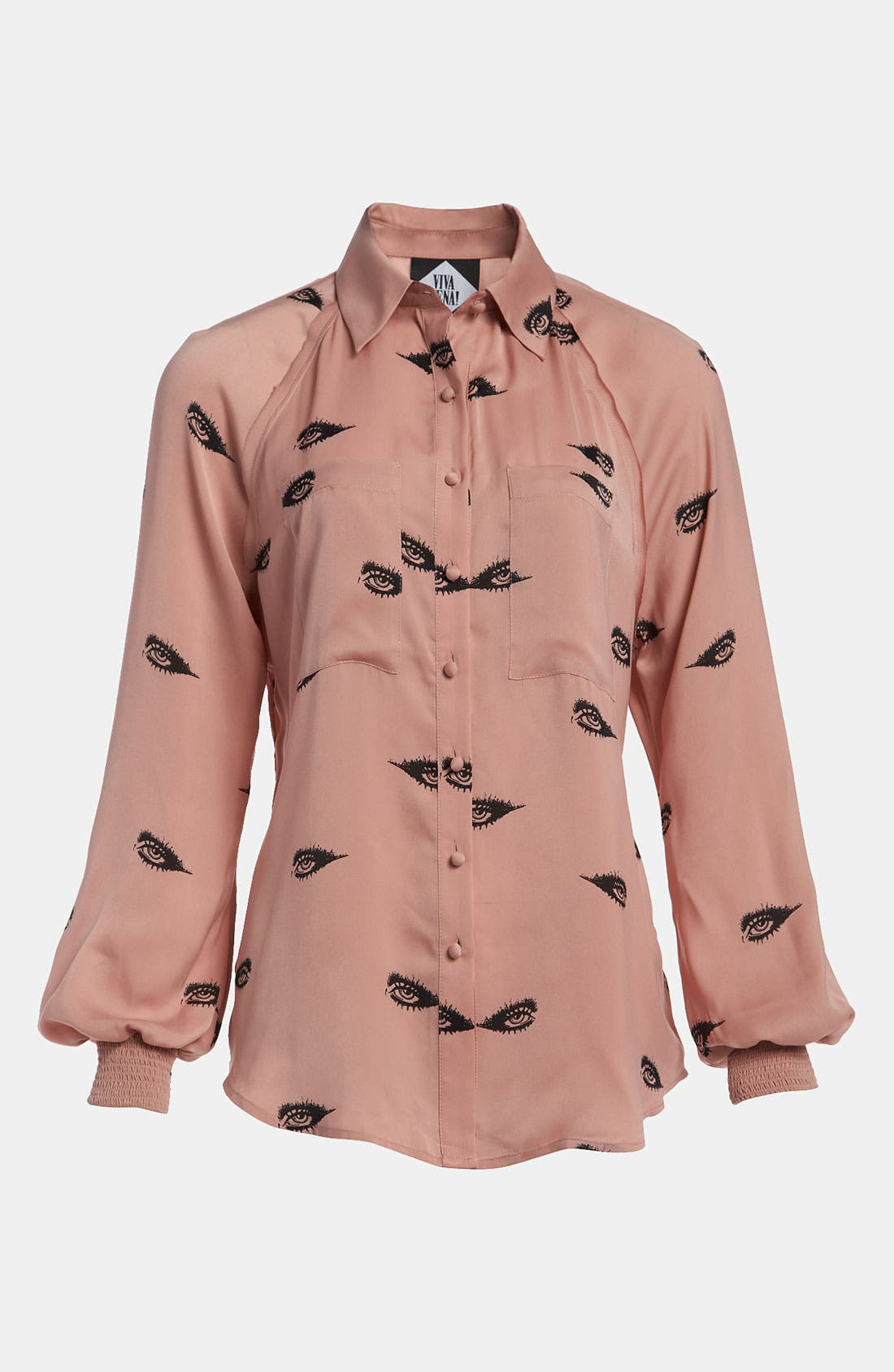 Alternate Image 1 Selected - Viva Vena! Bishop Sleeve Shirt