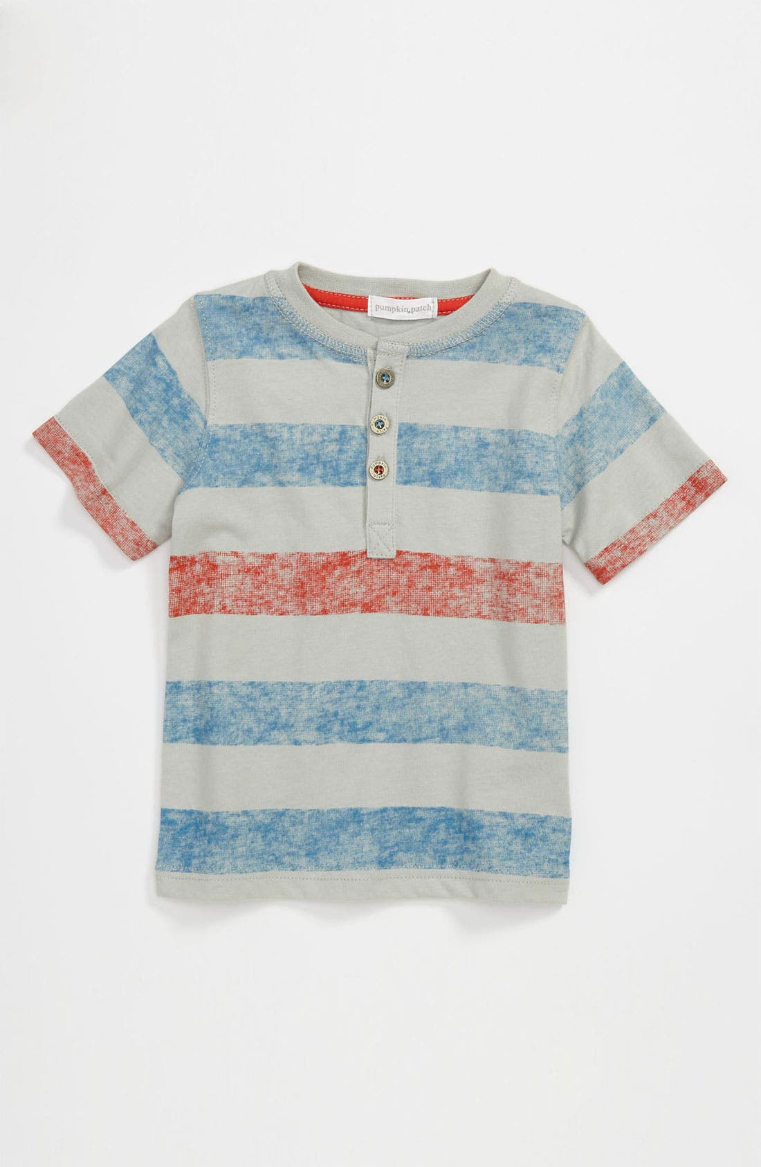 Alternate Image 1 Selected - Pumpkin Patch Stripe Shirt (Infant)