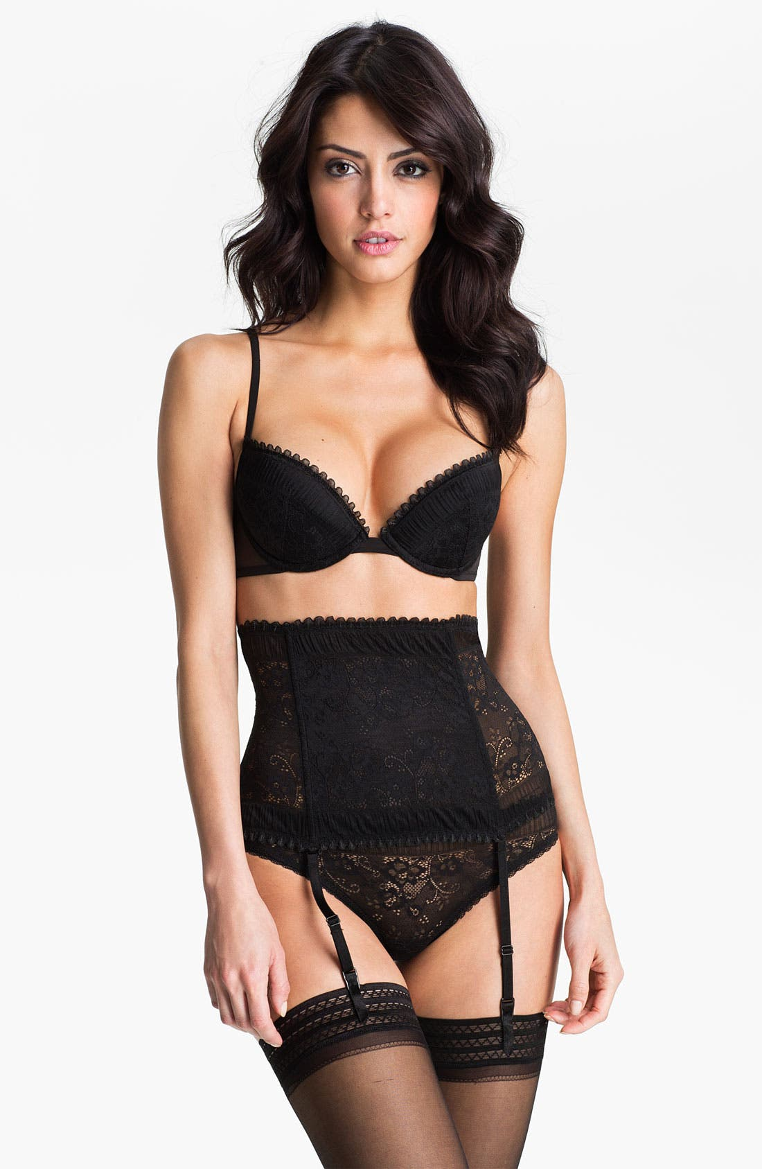 Alternate Image 3  - La Perla 'Looking for Love' High Waist Garter Belt