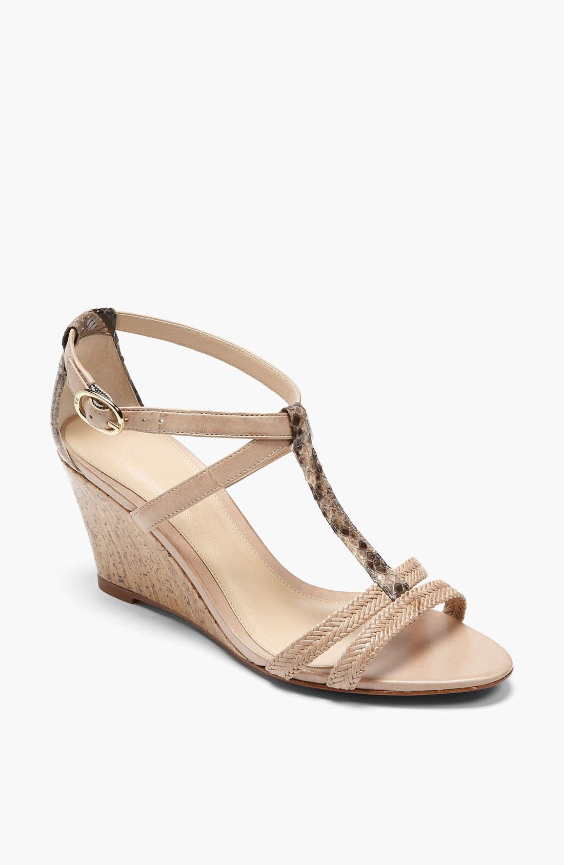 Alternate Image 1 Selected - Alexandre Birman Braid Cork Sandal