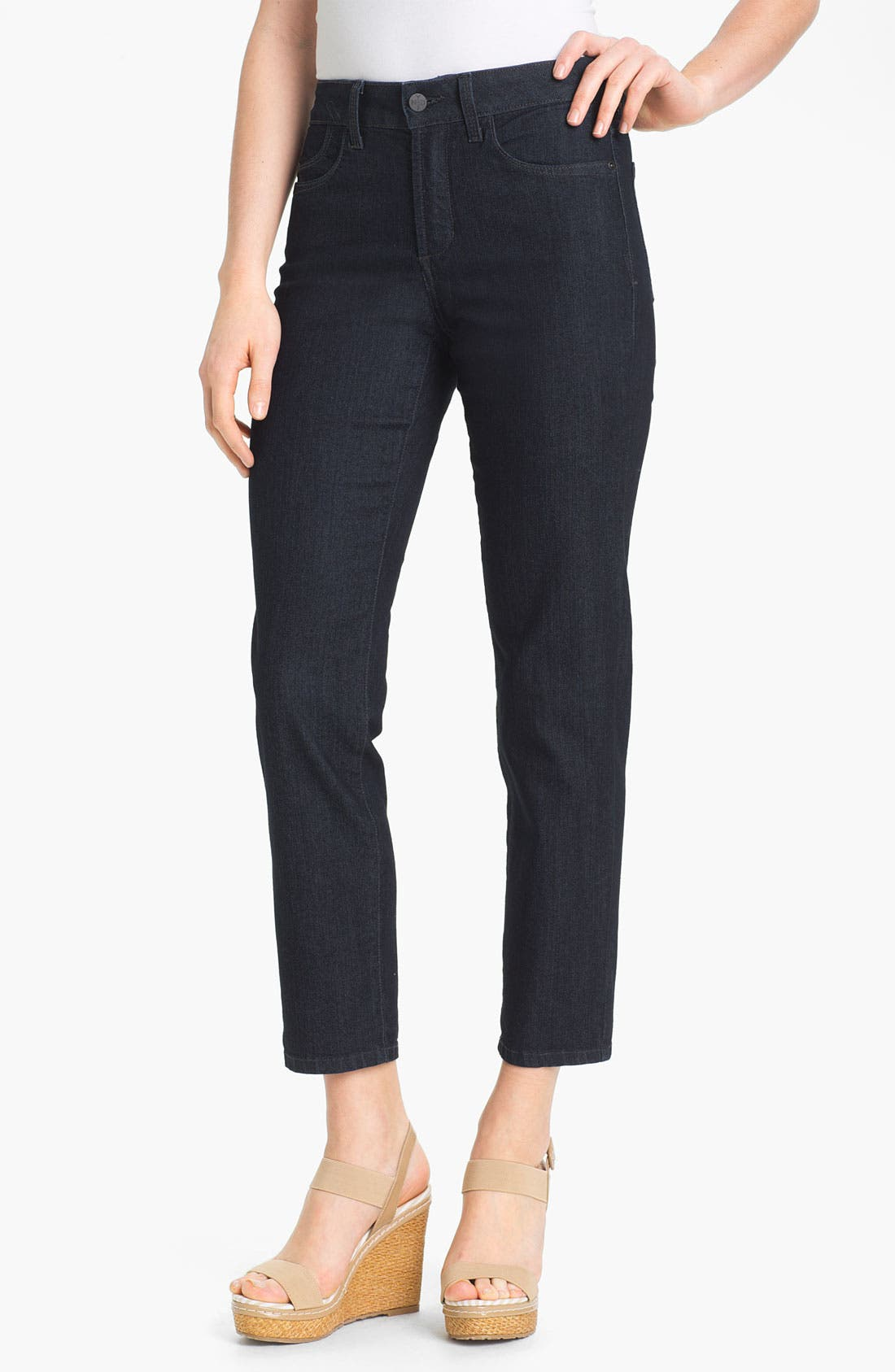 Main Image - NYDJ 'Alisha' Skinny Stretch Ankle Jeans