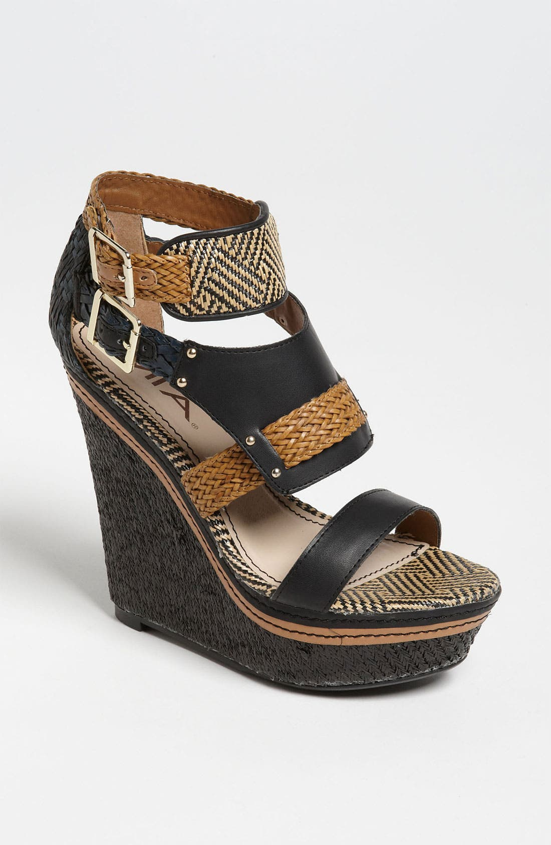 Alternate Image 1 Selected - MIA 'Frida' Wedge Sandal