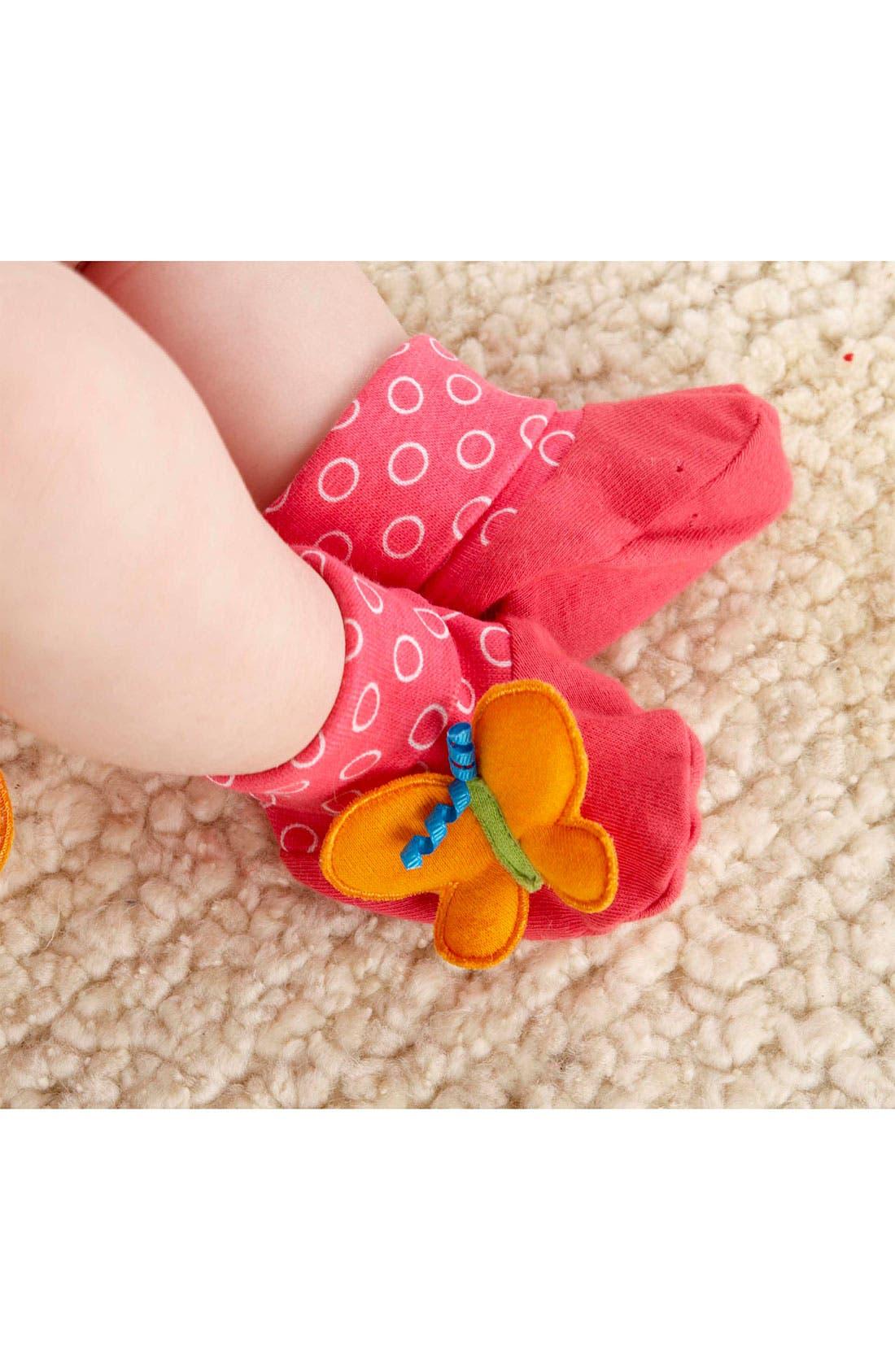 Alternate Image 3  - Baby Aspen 'Butterfly' Headband & Booties (Infant)