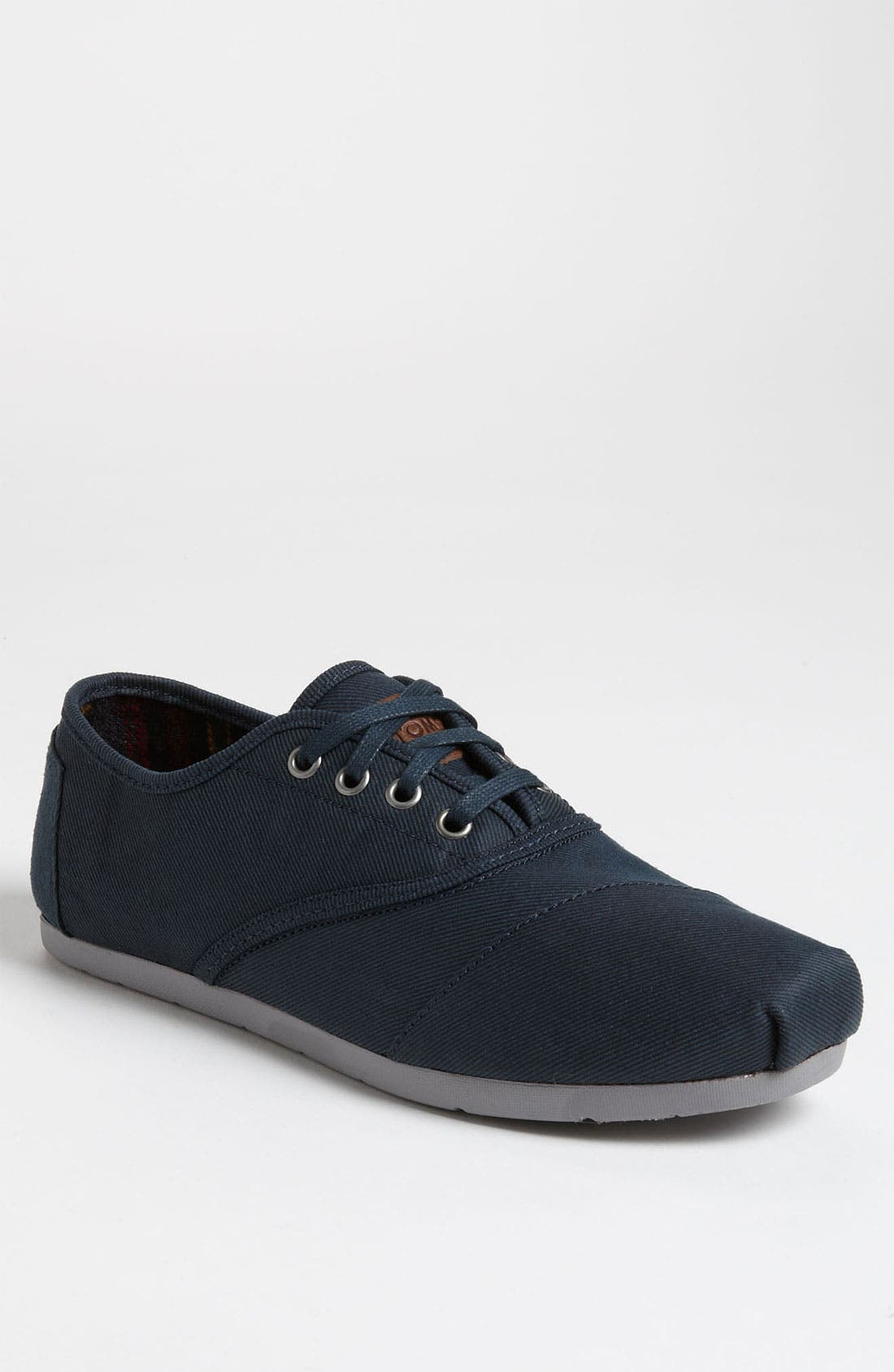 Alternate Image 1 Selected - TOMS 'Cordones' Twill Slip-On (Men)