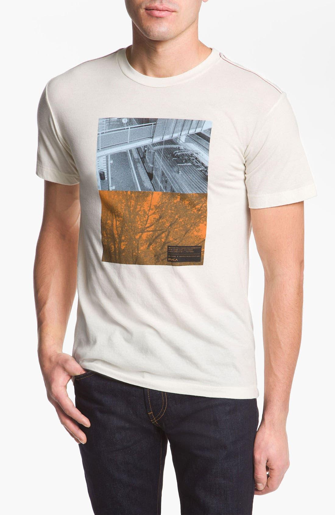 'Balance Stack' T-Shirt,                         Main,                         color, Almond Tea